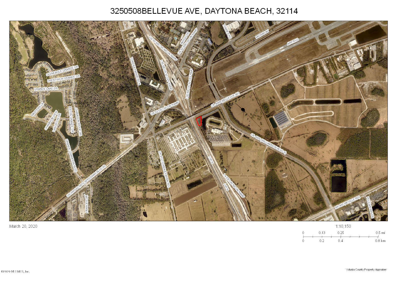 0 BELLEVUE, DAYTONA BEACH, FLORIDA 32114, ,Commercial,For sale,BELLEVUE,1044896