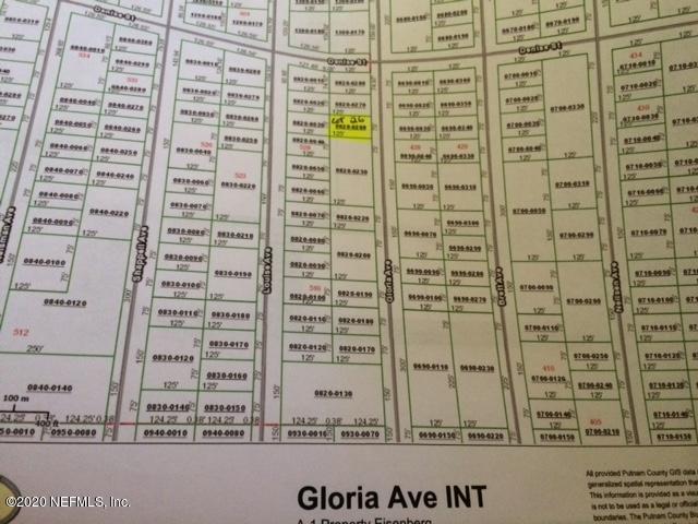 00 GLORIA, INTERLACHEN, FLORIDA 32148, ,Vacant land,For sale,GLORIA,1044980