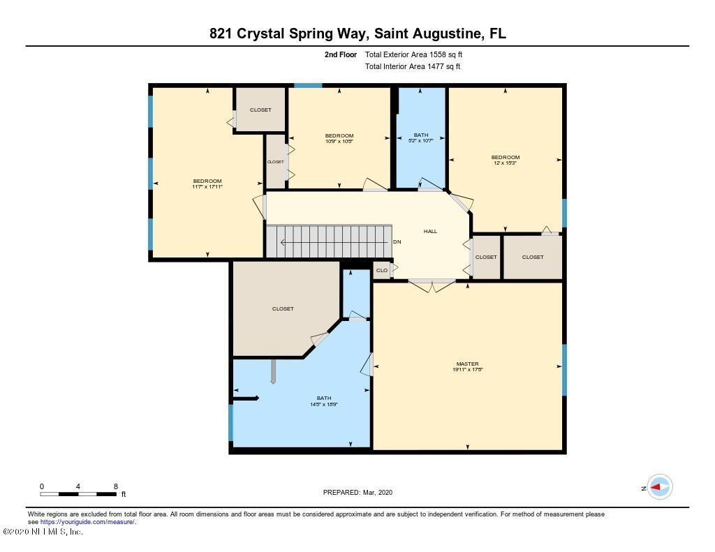821 CRYSTAL SPRING, ST AUGUSTINE, FLORIDA 32092, 5 Bedrooms Bedrooms, ,3 BathroomsBathrooms,Residential,For sale,CRYSTAL SPRING,1045415