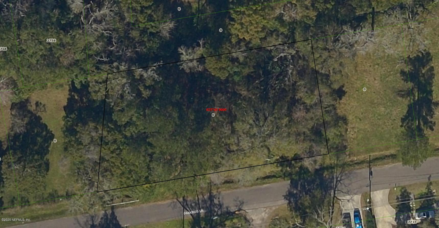 0 PARKRUS, JACKSONVILLE, FLORIDA 32208, ,Vacant land,For sale,PARKRUS,1046089