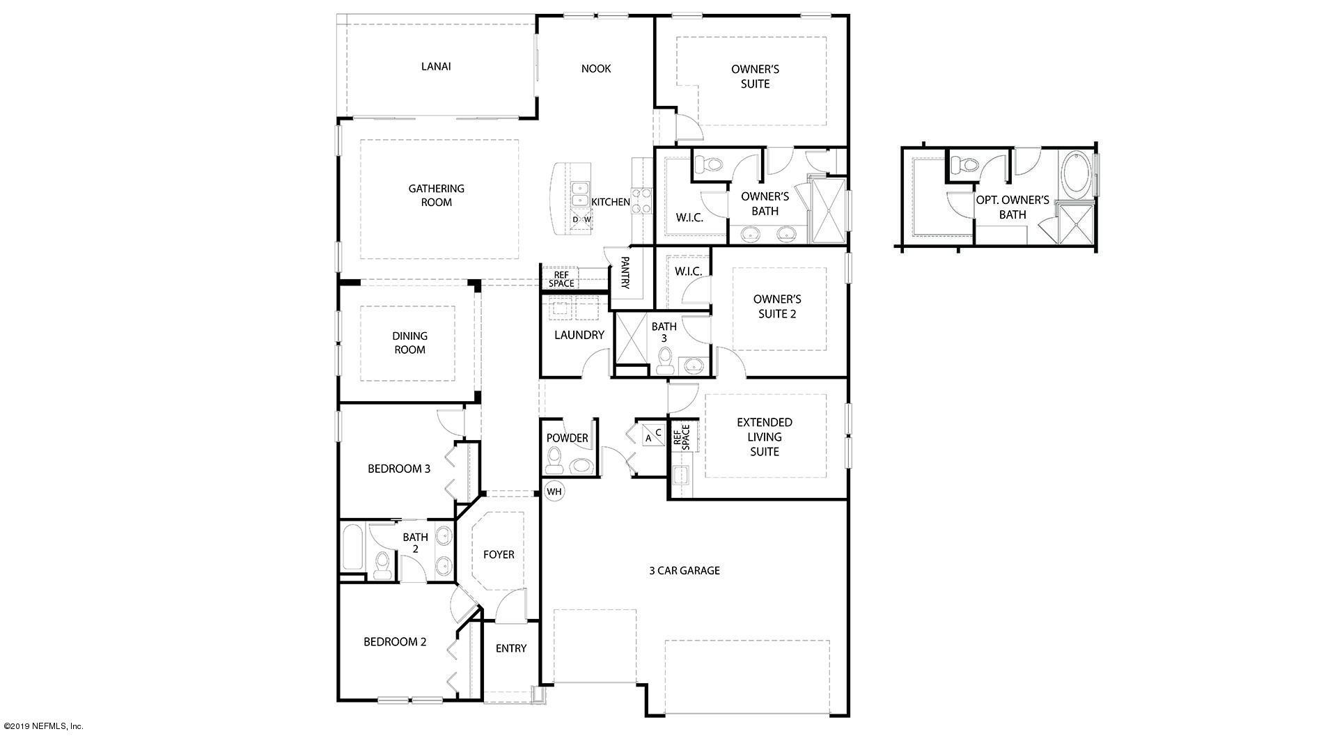 3117 FREE BIRD, GREEN COVE SPRINGS, FLORIDA 32043, 4 Bedrooms Bedrooms, ,3 BathroomsBathrooms,Residential,For sale,FREE BIRD,1046600