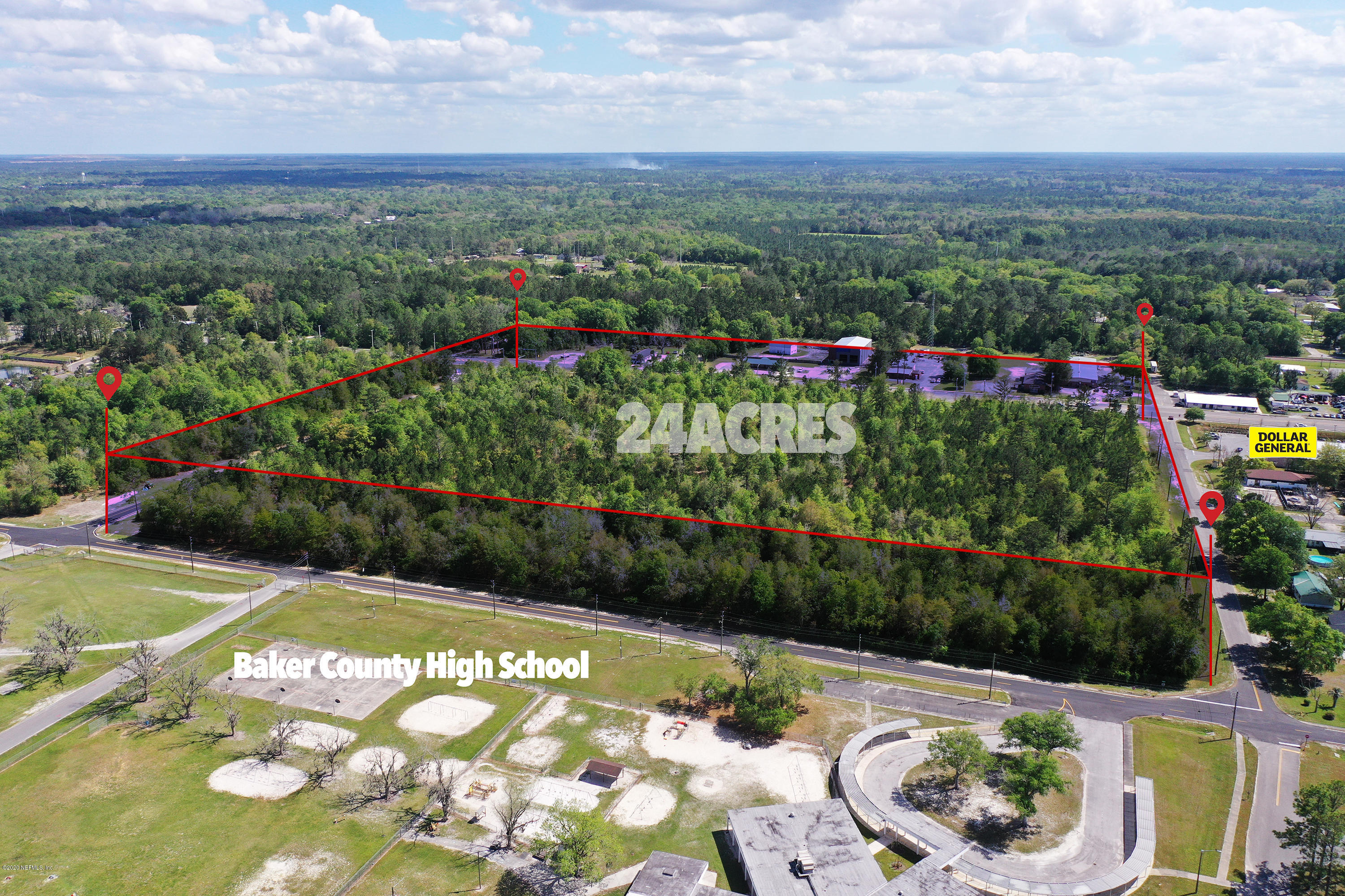 0 US HIGHWAY 90, GLEN ST. MARY, FLORIDA 32040, ,Commercial,For sale,US HIGHWAY 90,1049956