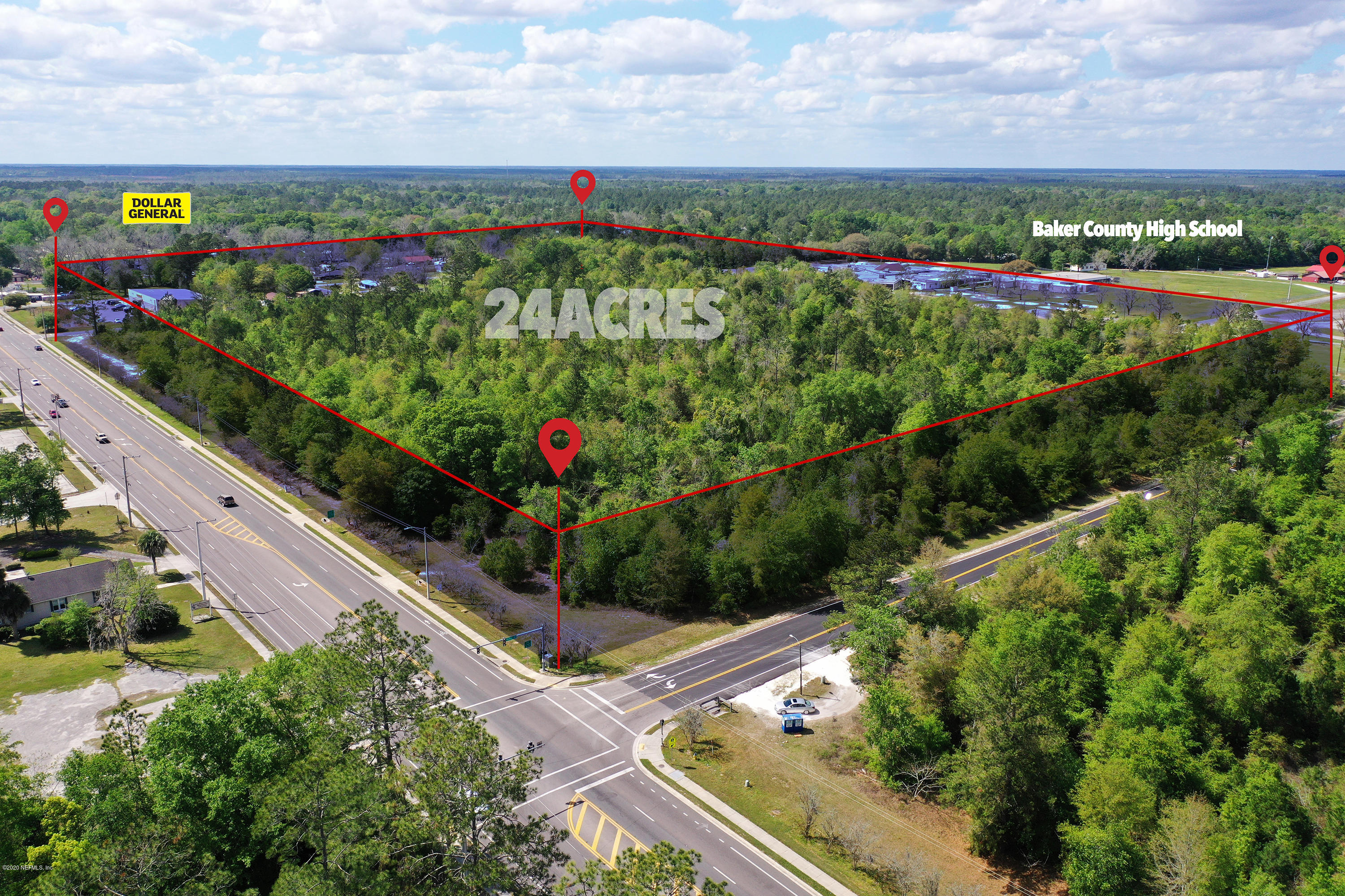 0 US HIGHWAY 90, GLEN ST. MARY, FLORIDA 32040, ,Vacant land,For sale,US HIGHWAY 90,1049961