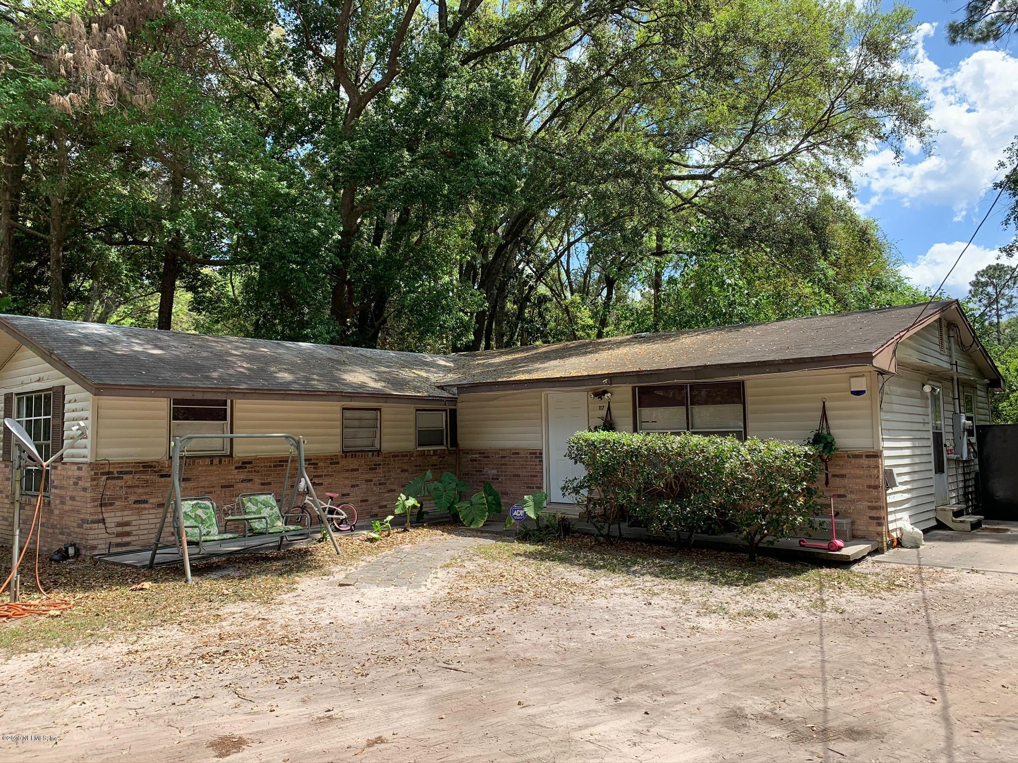 117 CROSBY, PALATKA, FLORIDA 32177, 3 Bedrooms Bedrooms, ,1 BathroomBathrooms,Residential,For sale,CROSBY,1050996