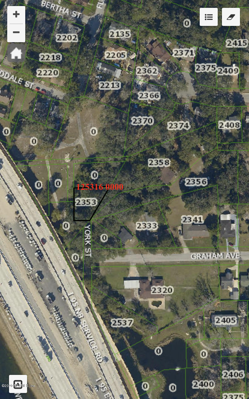 2353 YORK, JACKSONVILLE, FLORIDA 32207, ,Vacant land,For sale,YORK,1051620