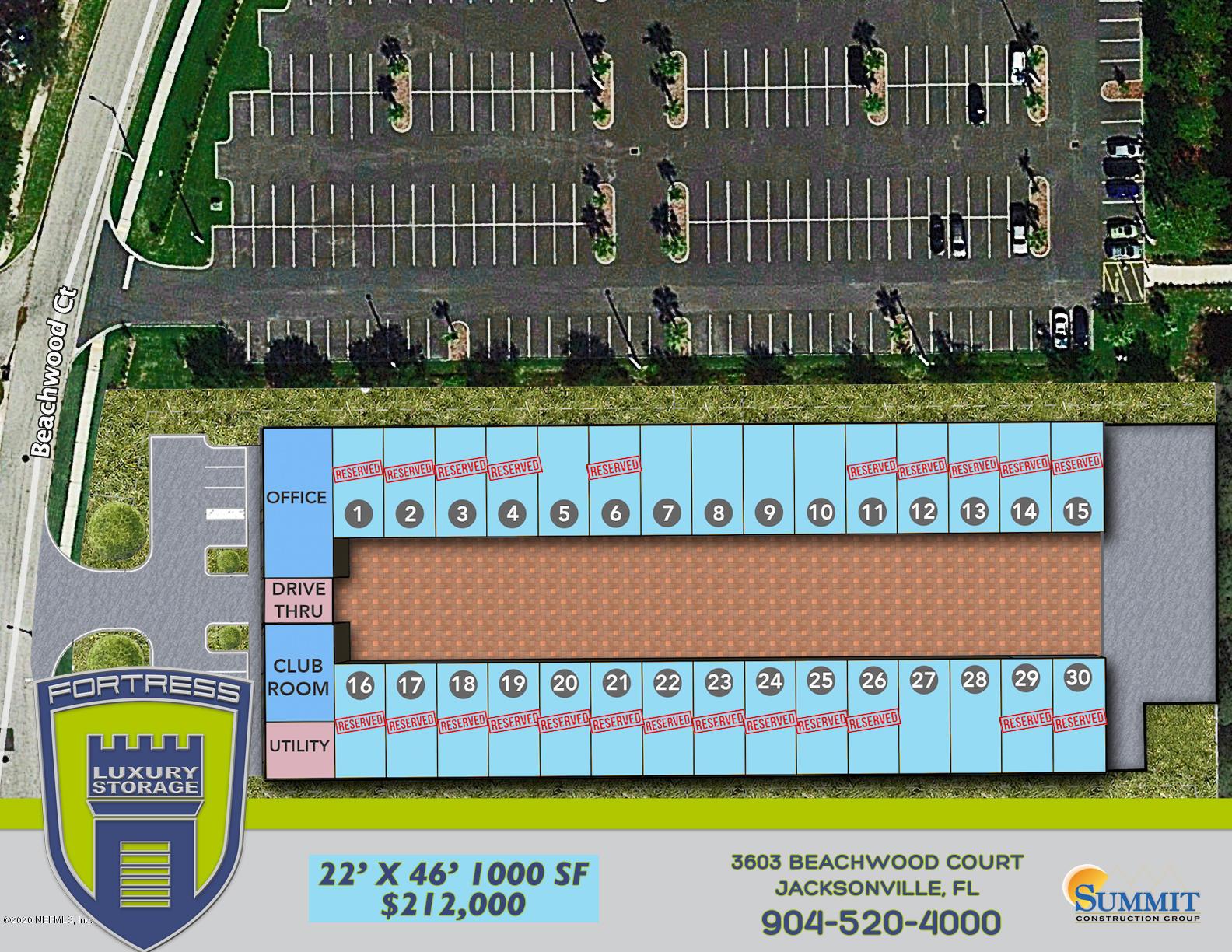 3603 BEACHWOOD, JACKSONVILLE, FLORIDA 32224, ,Commercial,For sale,BEACHWOOD,1052117