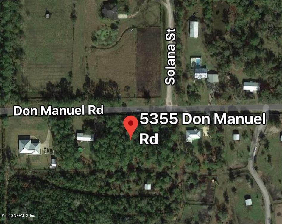 5355 DON MANUEL, ELKTON, FLORIDA 32033, ,Vacant land,For sale,DON MANUEL,1051031