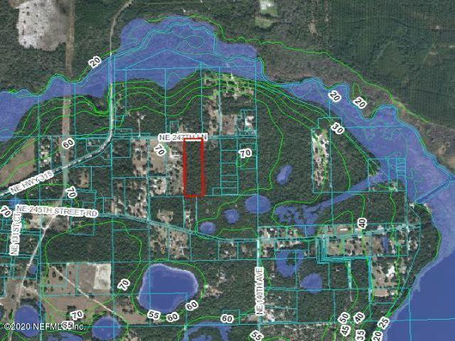 00 247TH, ORANGE SPRINGS, FLORIDA 32182, ,Vacant land,For sale,247TH,1052453