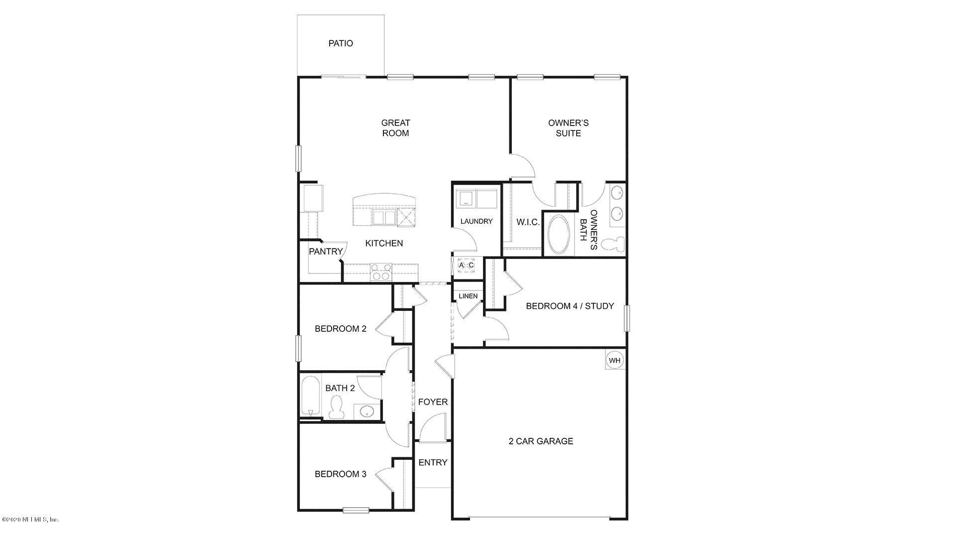 3002 FISHER OAK, GREEN COVE SPRINGS, FLORIDA 32043, 4 Bedrooms Bedrooms, ,2 BathroomsBathrooms,Residential,For sale,FISHER OAK,1053608
