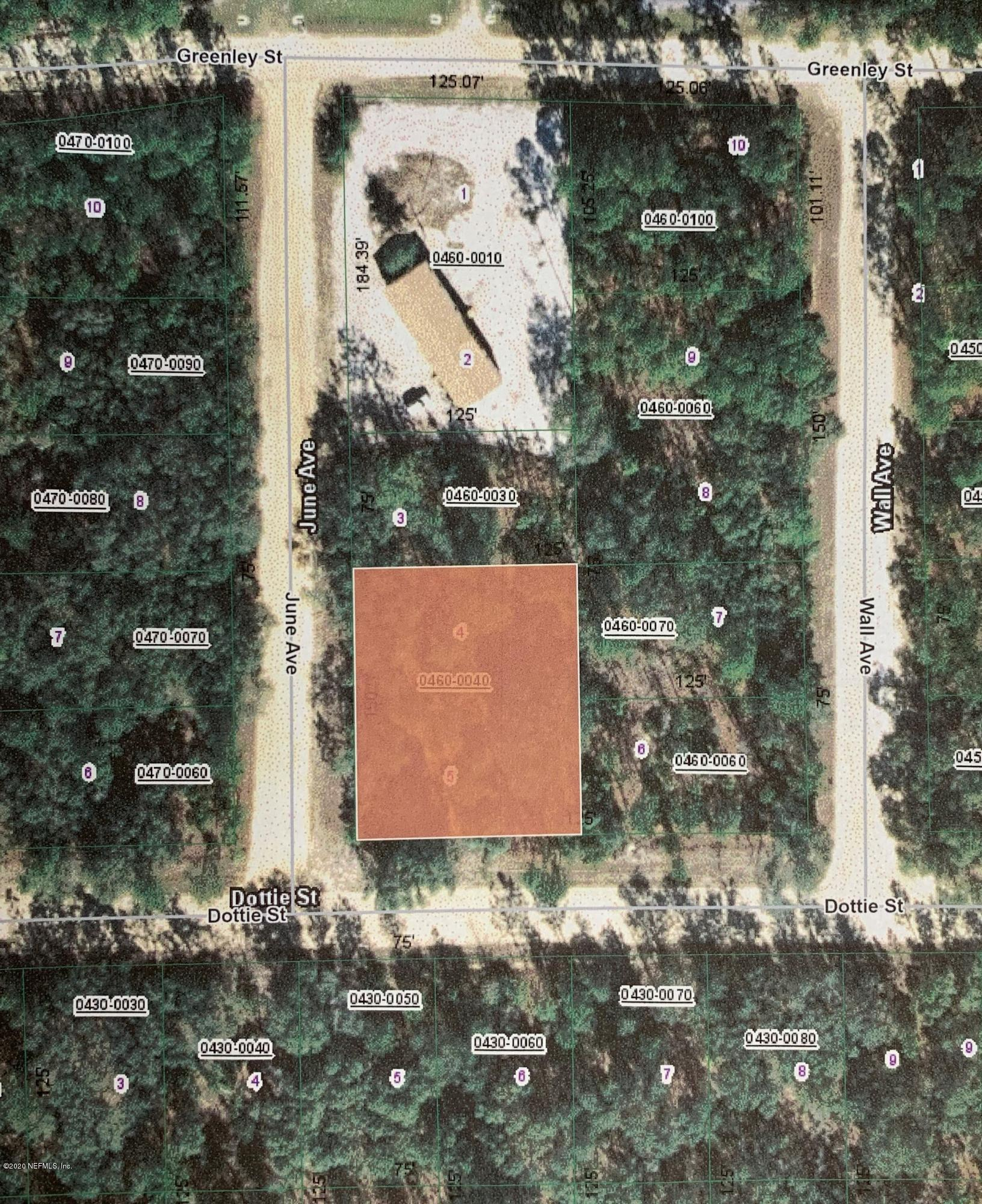 0 DOTTIE, INTERLACHEN, FLORIDA 32148, ,Vacant land,For sale,DOTTIE,1053661