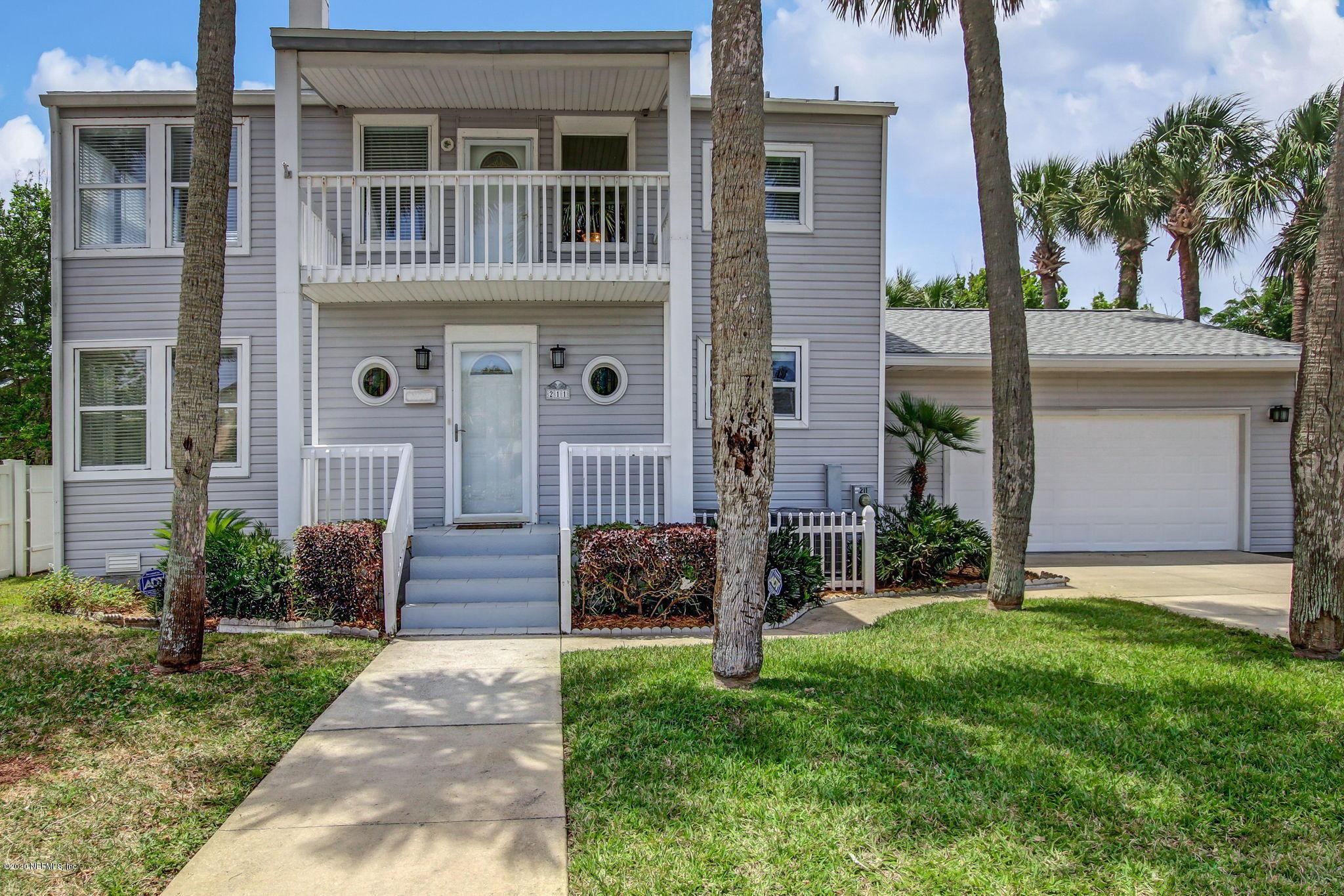211 WALNUT, NEPTUNE BEACH, FLORIDA 32266, 4 Bedrooms Bedrooms, ,4 BathroomsBathrooms,Residential,For sale,WALNUT,1054049