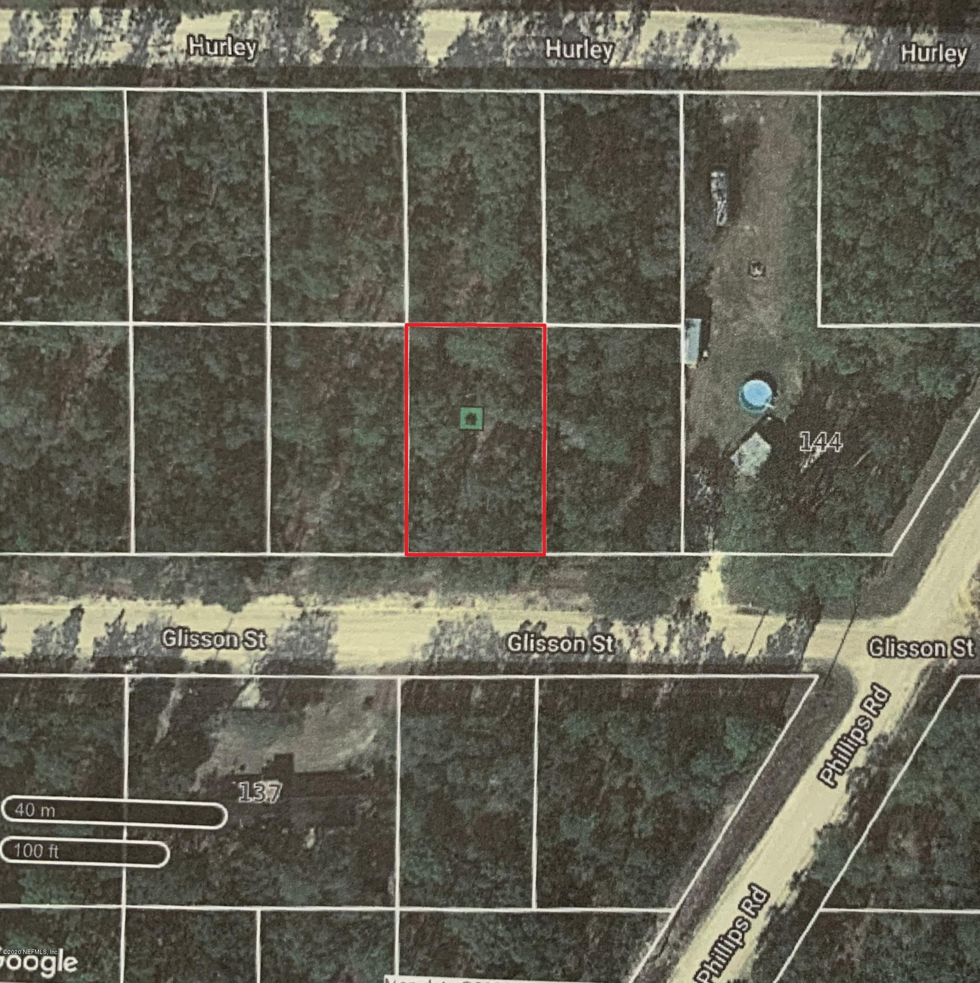 00 GLISSON, INTERLACHEN, FLORIDA 32148, ,Vacant land,For sale,GLISSON,1054159
