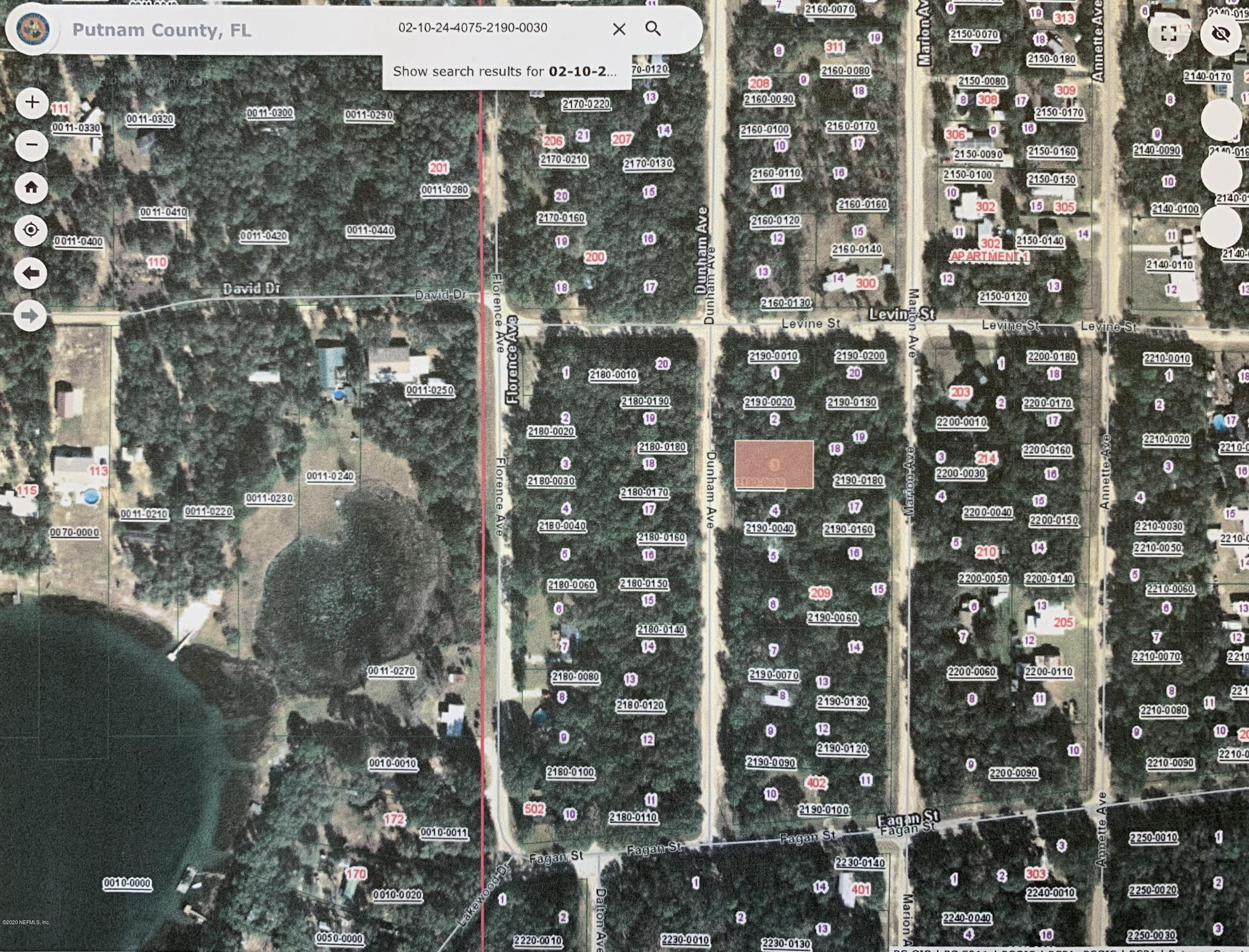 00 DUNHAM, INTERLACHEN, FLORIDA 32148, ,Vacant land,For sale,DUNHAM,1054199