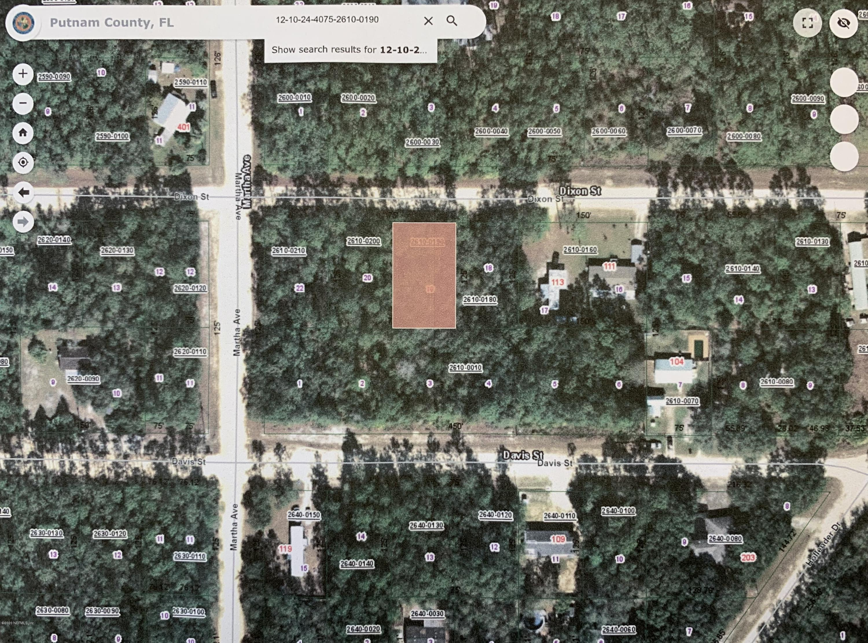 00 DIXON, INTERLACHEN, FLORIDA 32148, ,Vacant land,For sale,DIXON,1054207