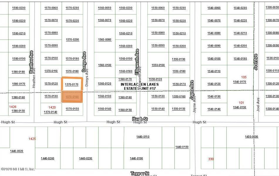 0 DONYS, INTERLACHEN, FLORIDA 32148, ,Vacant land,For sale,DONYS,1054615