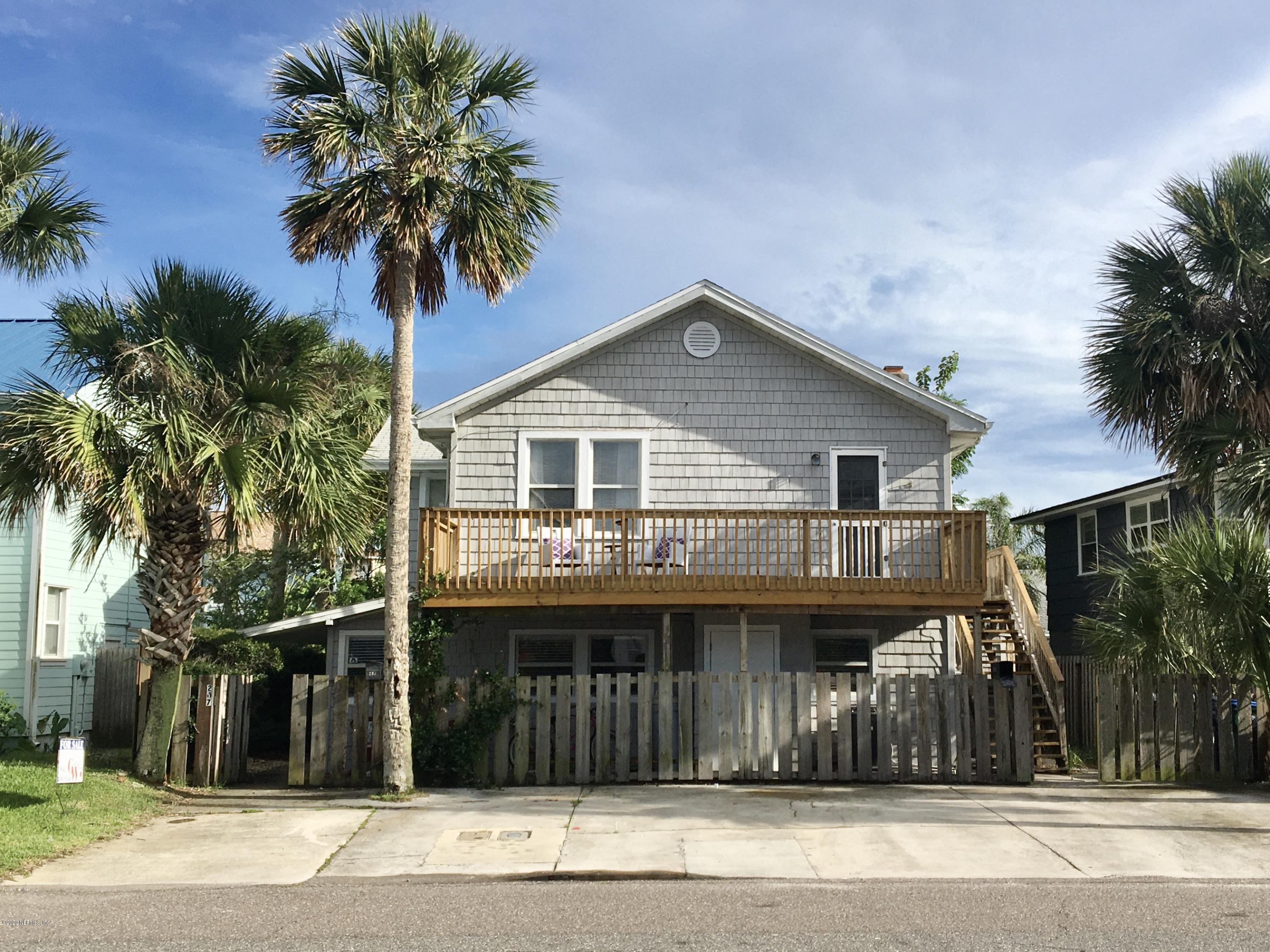207 MARGARET, NEPTUNE BEACH, FLORIDA 32266, 5 Bedrooms Bedrooms, ,4 BathroomsBathrooms,Investment / MultiFamily,For sale,MARGARET,1042741
