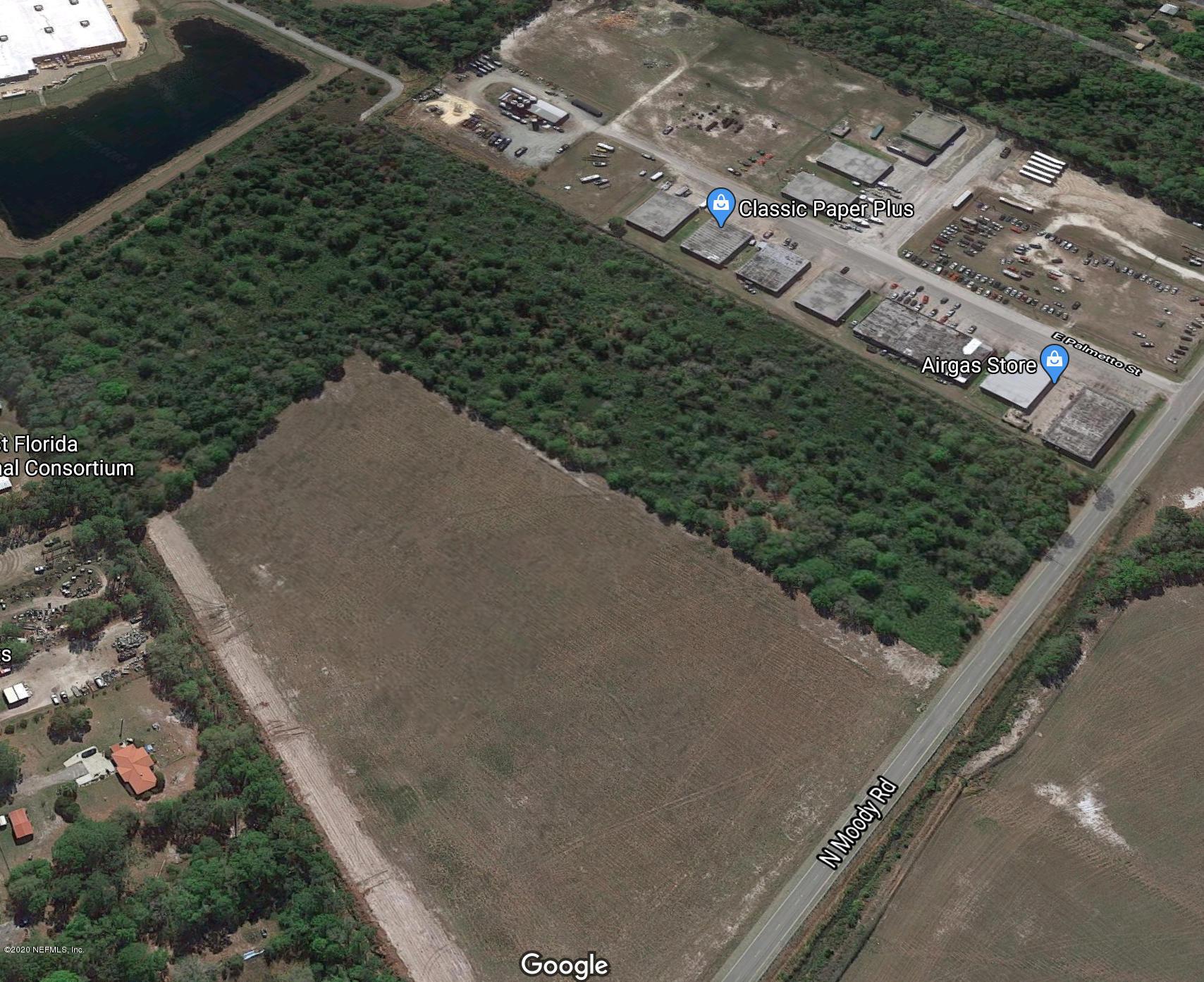 0 MOODY, PALATKA, FLORIDA 32177, ,Vacant land,For sale,MOODY,931378