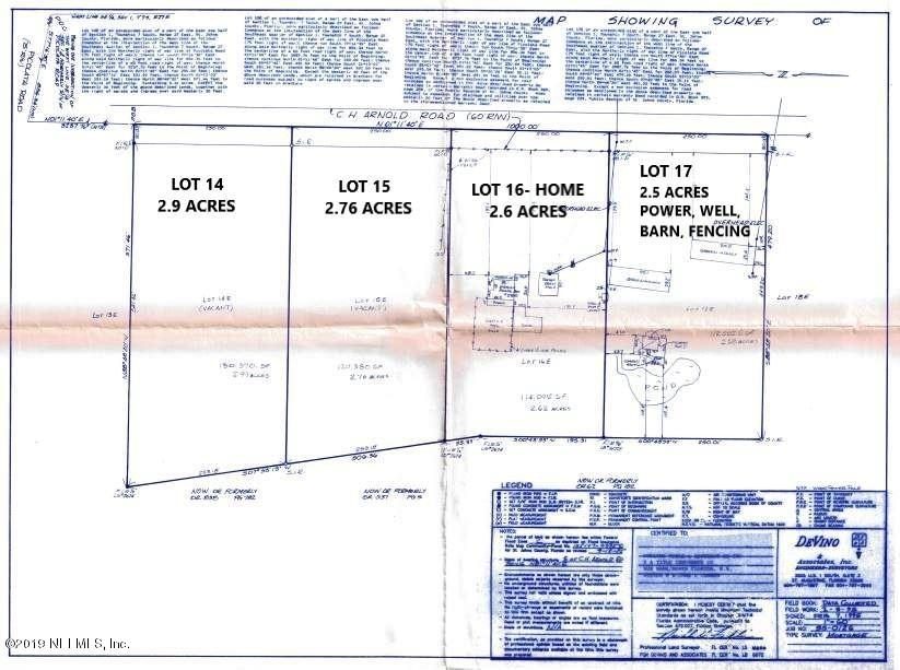0 CH ARNOLD- LOT 14, ST AUGUSTINE, FLORIDA 32092, ,Vacant land,For sale,CH ARNOLD- LOT 14,1056609