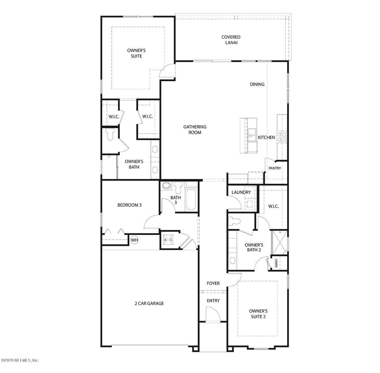 107 OSPREY LANDING, ST AUGUSTINE, FLORIDA 32092, 3 Bedrooms Bedrooms, ,3 BathroomsBathrooms,Residential,For sale,OSPREY LANDING,1056739
