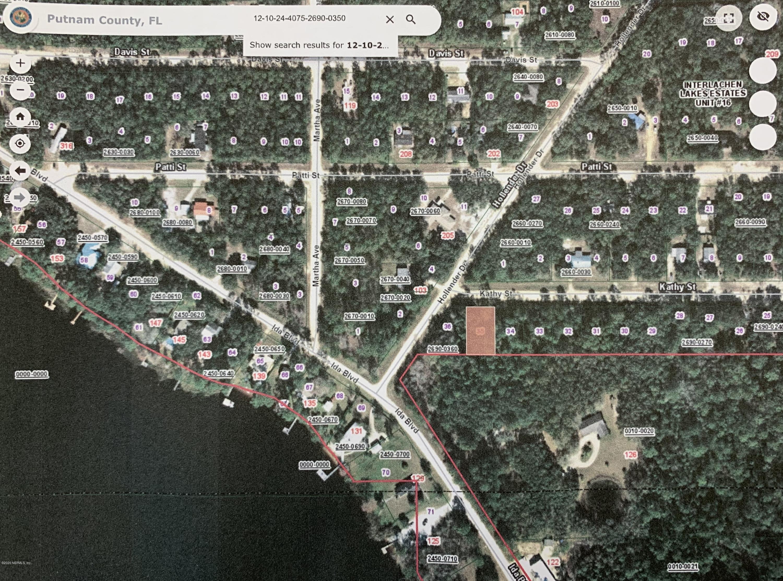 00 KATHY, INTERLACHEN, FLORIDA 32148, ,Vacant land,For sale,KATHY,1056805