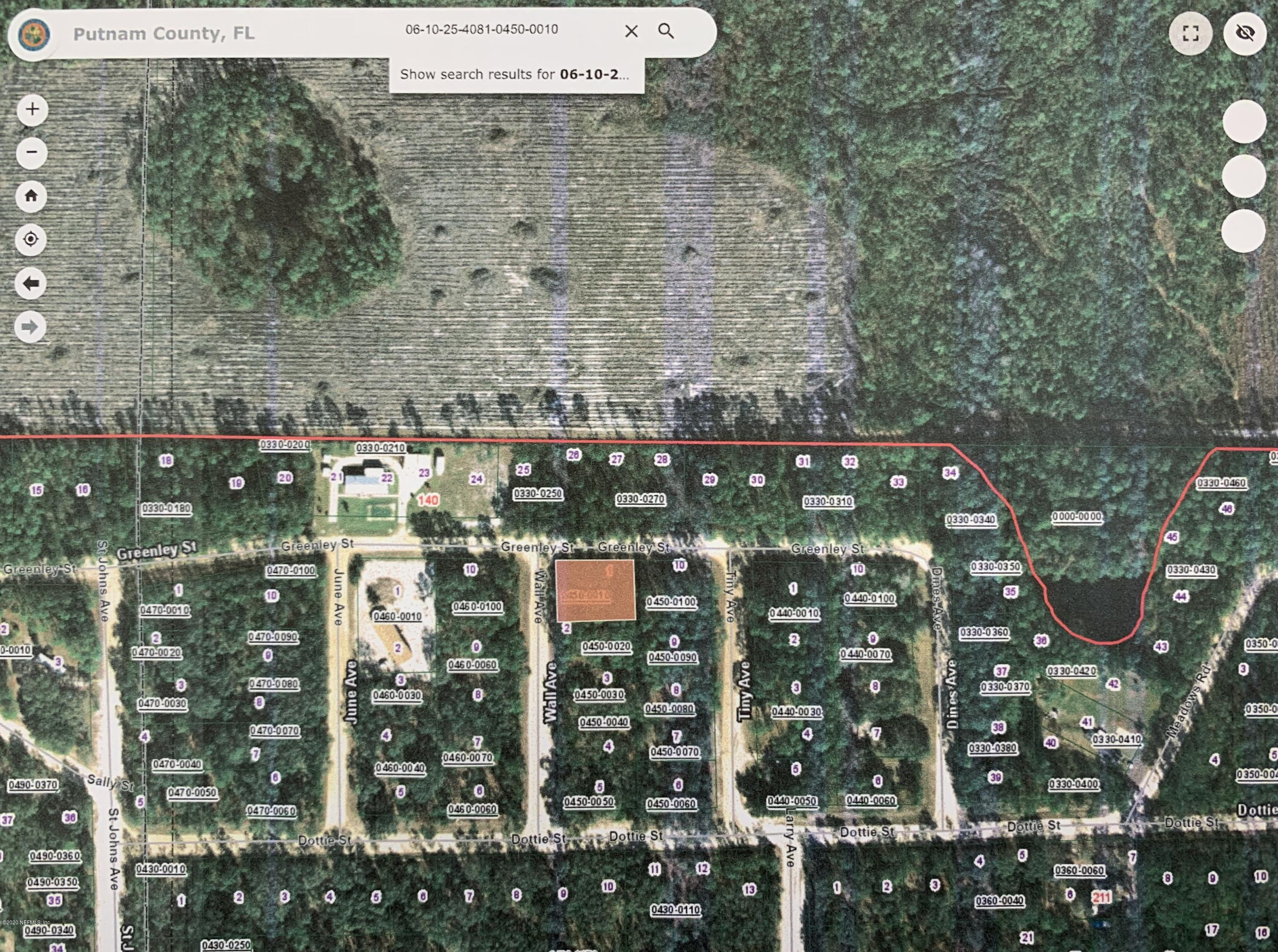 00 GREENLEY, INTERLACHEN, FLORIDA 32148, ,Vacant land,For sale,GREENLEY,1057104
