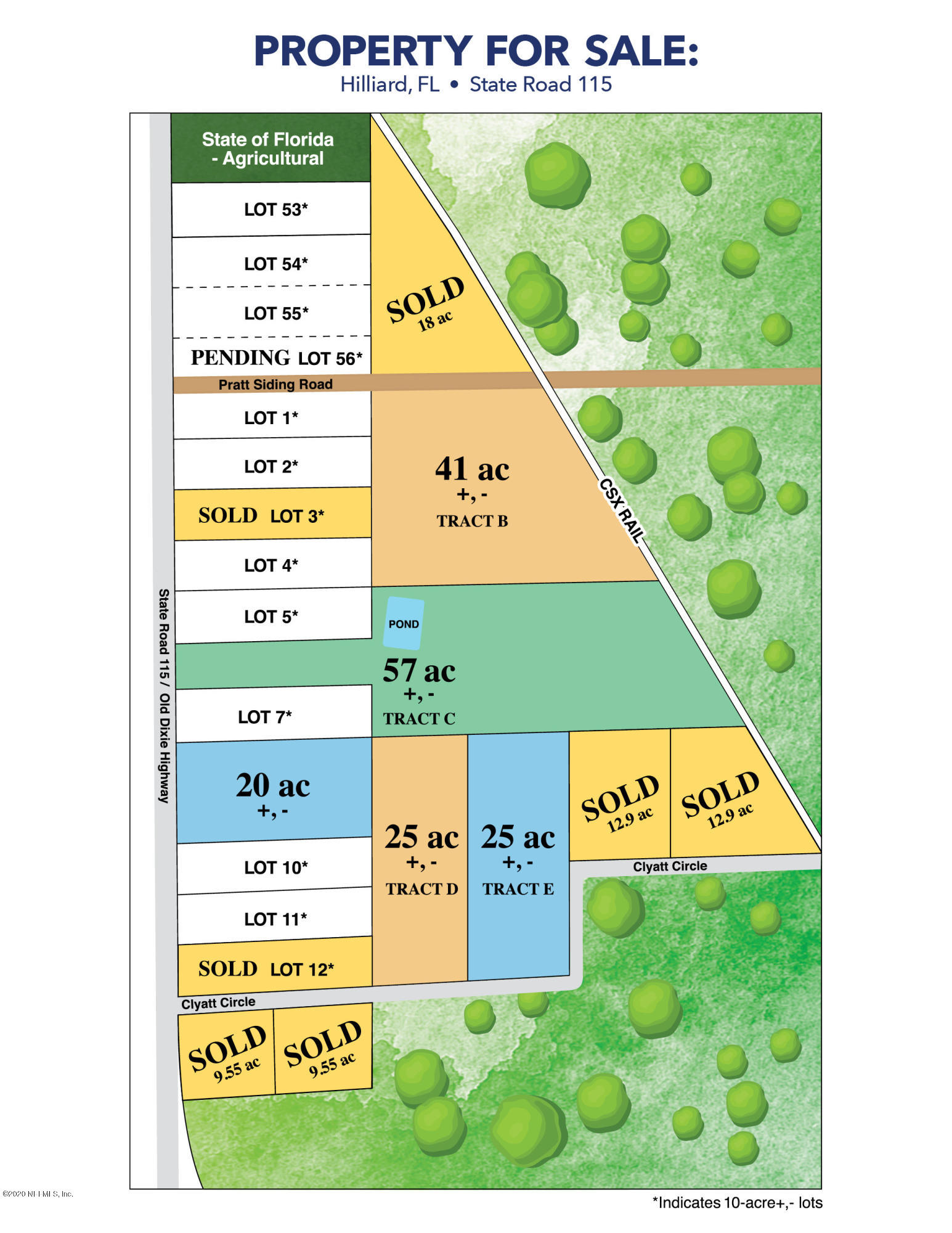 LOT 5 OLD DIXIE, HILLIARD, FLORIDA 32046, ,Vacant land,For sale,OLD DIXIE,1037975