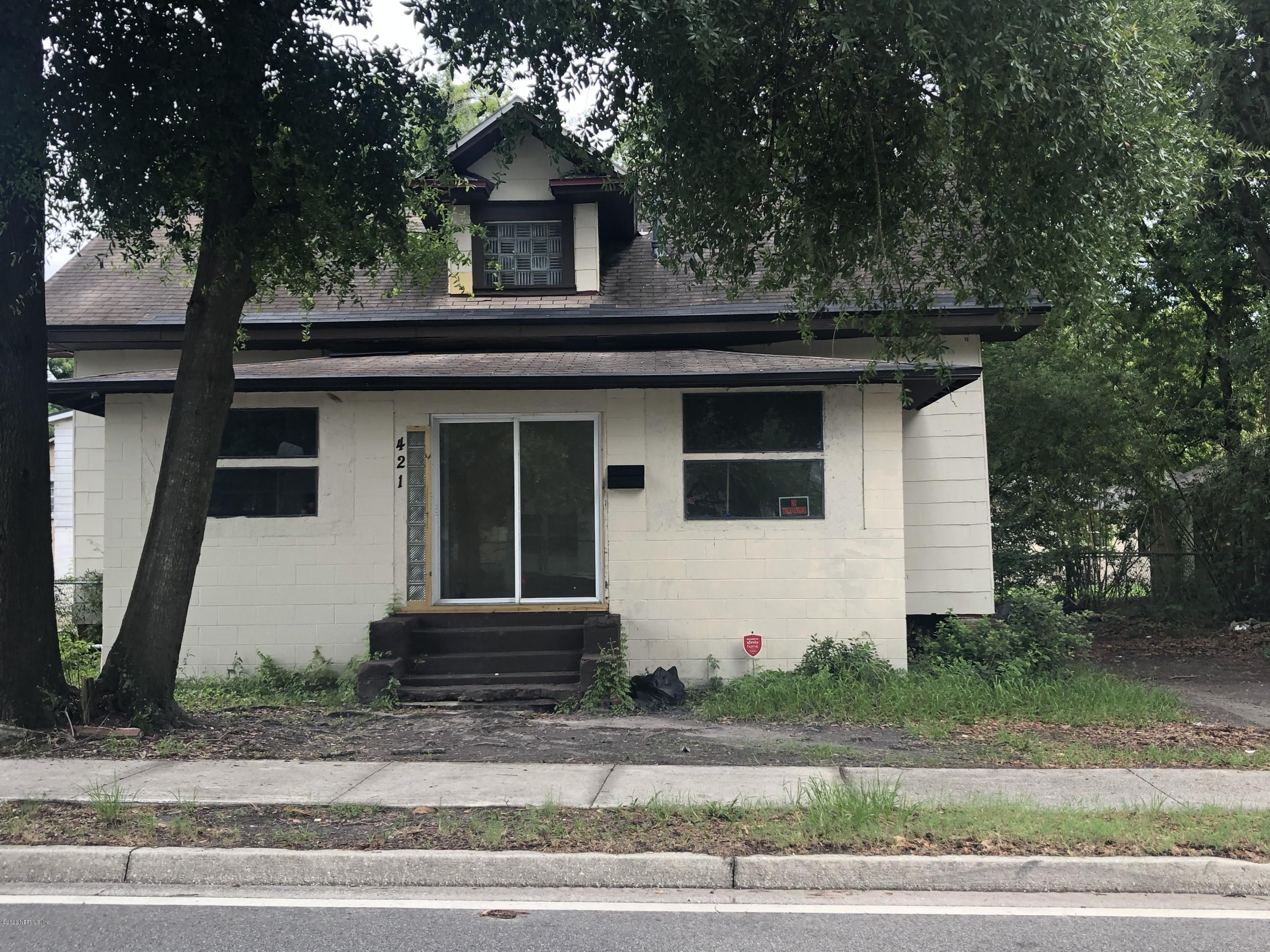421 GOLFAIR, JACKSONVILLE, FLORIDA 32206, 4 Bedrooms Bedrooms, ,2 BathroomsBathrooms,Investment / MultiFamily,For sale,GOLFAIR,1057989