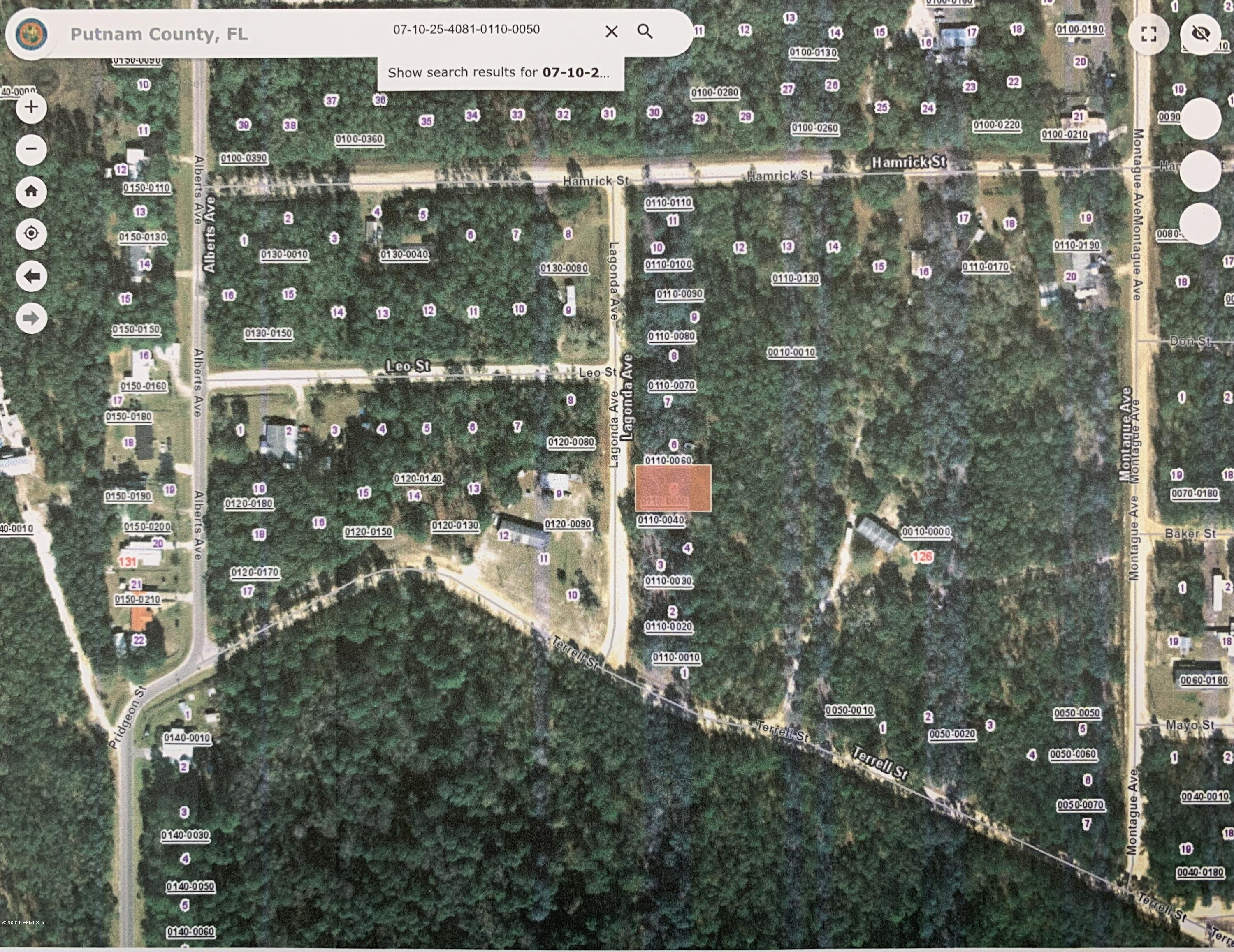 00 LAGONDA, INTERLACHEN, FLORIDA 32148, ,Vacant land,For sale,LAGONDA,1057140