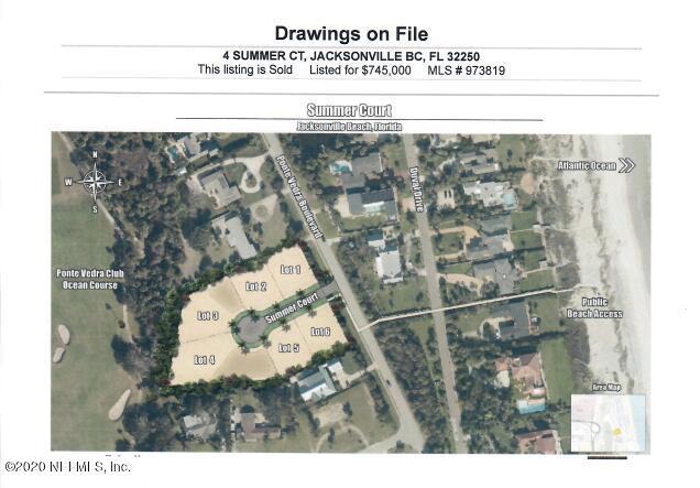 4 SUMMER, JACKSONVILLE BEACH, FLORIDA 32250, ,Vacant land,For sale,SUMMER,1057384