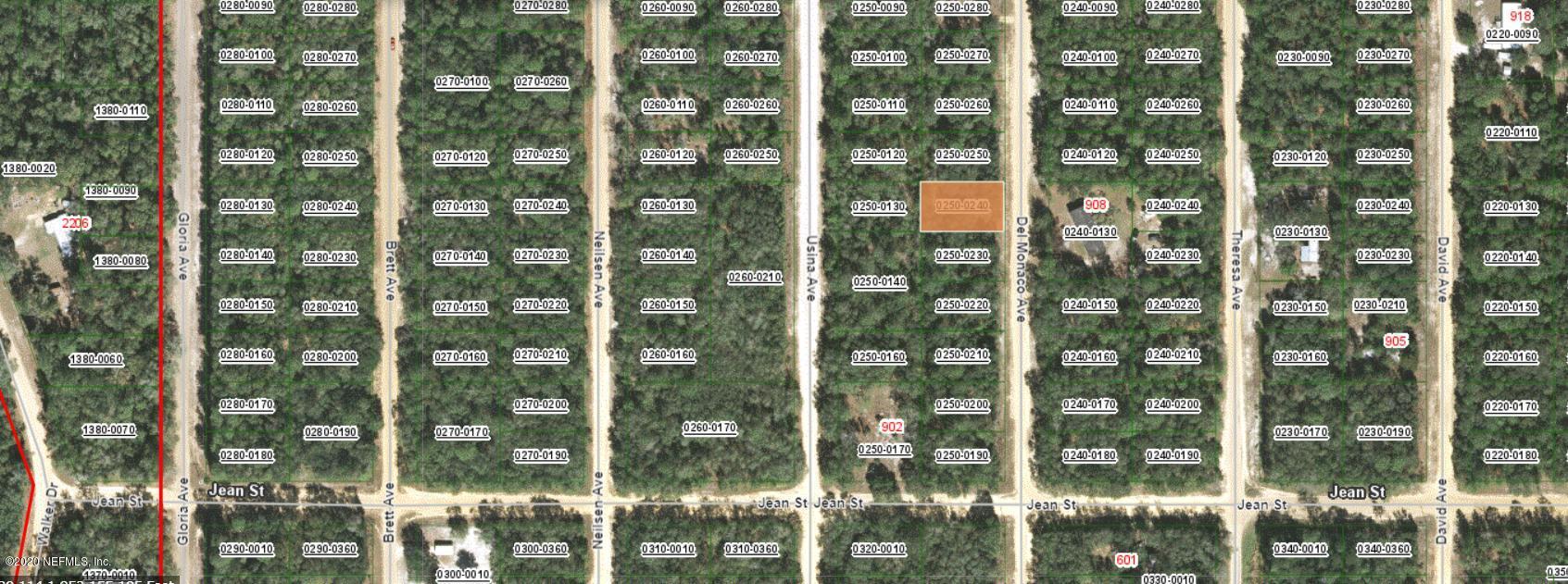 LOT 24 DEL MONACO, INTERLACHEN, FLORIDA 32148, ,Vacant land,For sale,DEL MONACO,1057779