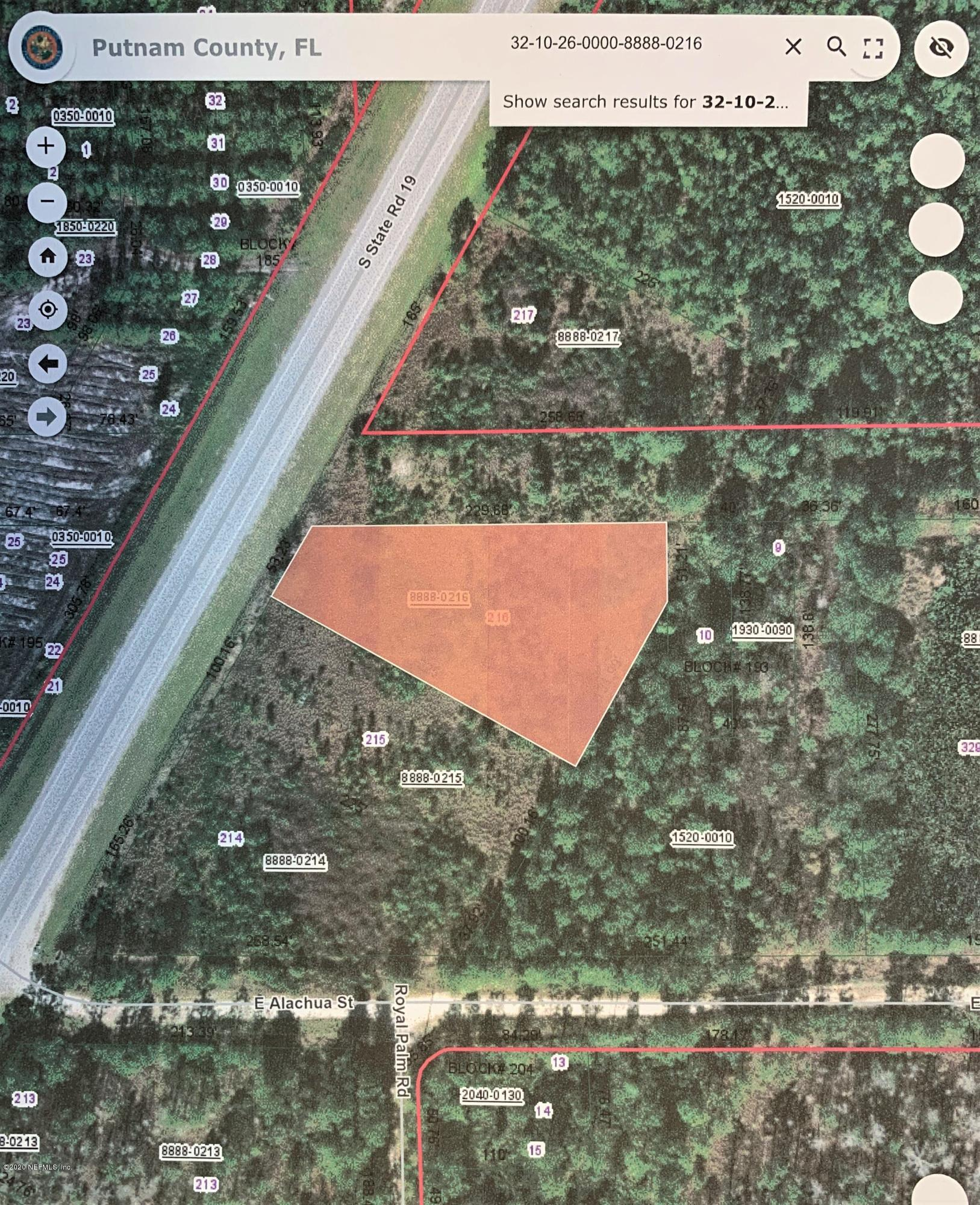 1531 STATE ROAD 19, PALATKA, FLORIDA 32177, ,Vacant land,For sale,STATE ROAD 19,1058212