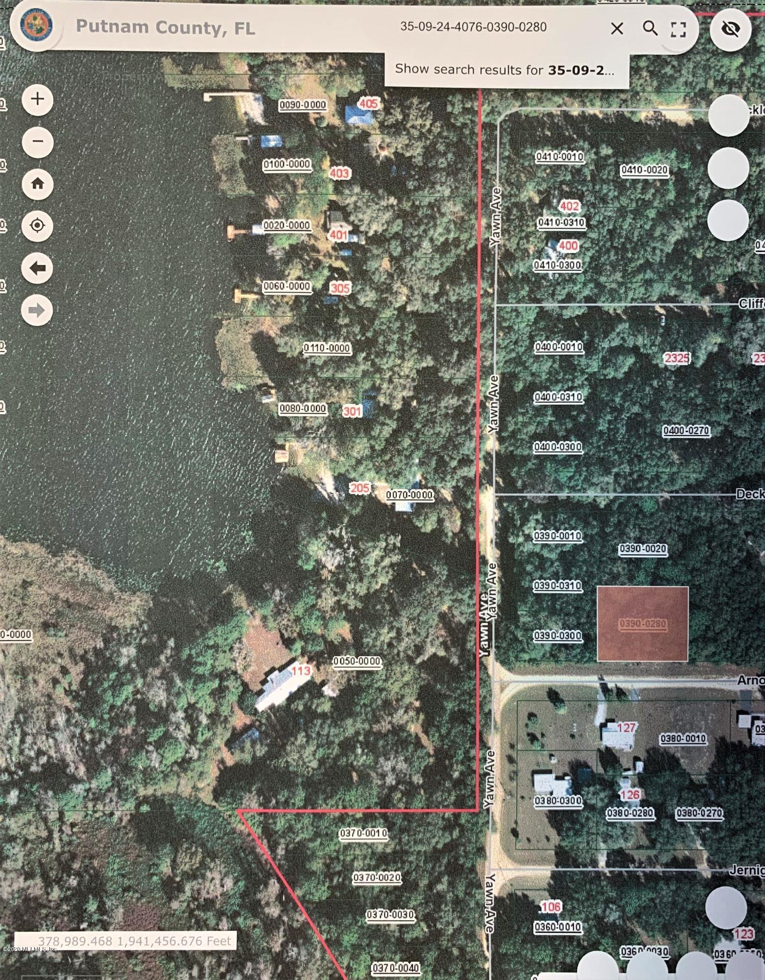 00 ARNOLD, INTERLACHEN, FLORIDA 32148, ,Vacant land,For sale,ARNOLD,1058225