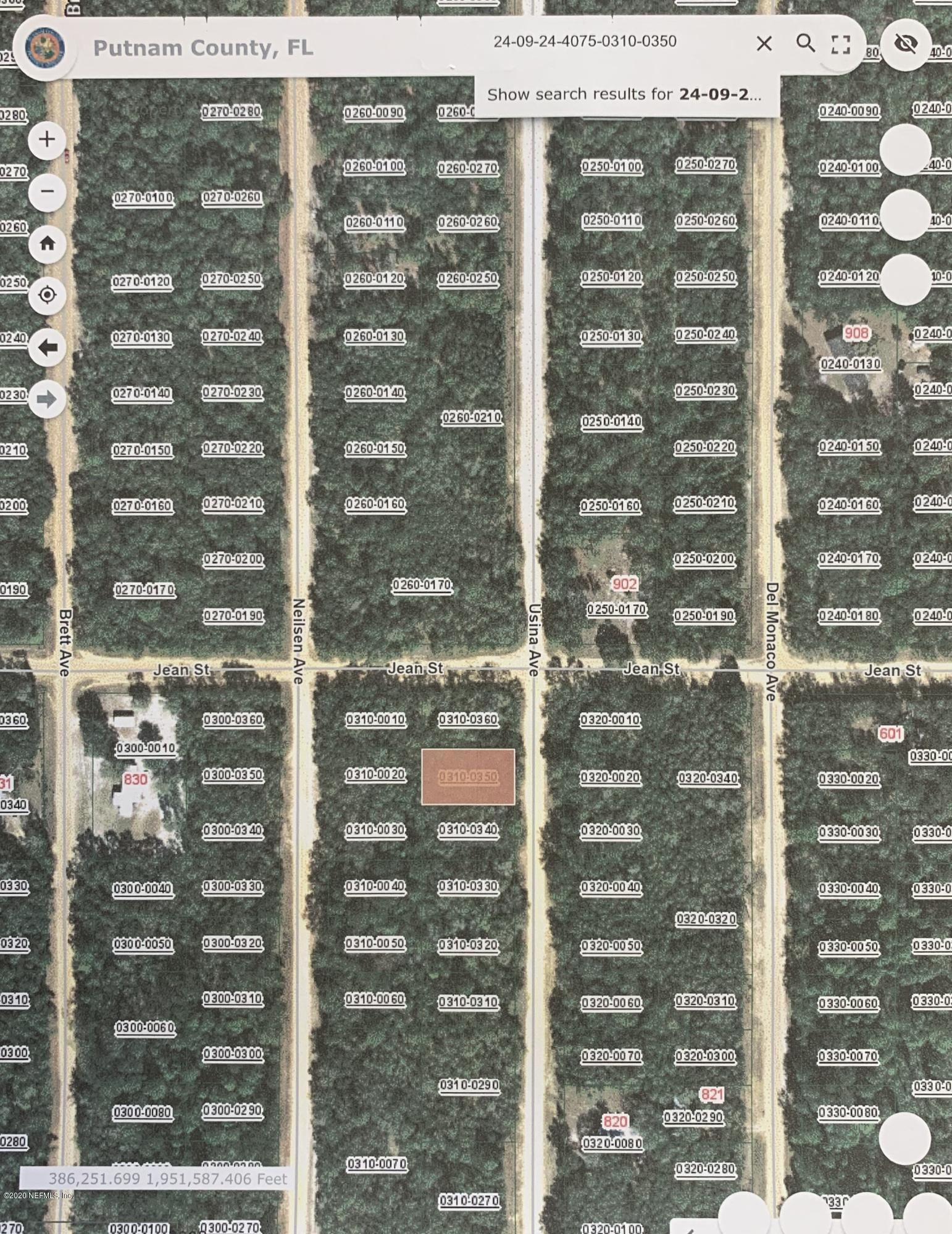 00 USINA, INTERLACHEN, FLORIDA 32148, ,Vacant land,For sale,USINA,1058297