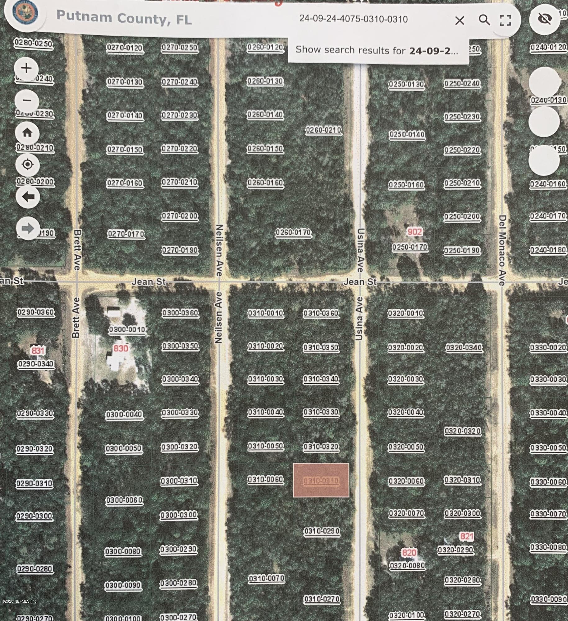 000 USINA, INTERLACHEN, FLORIDA 32148, ,Vacant land,For sale,USINA,1058305