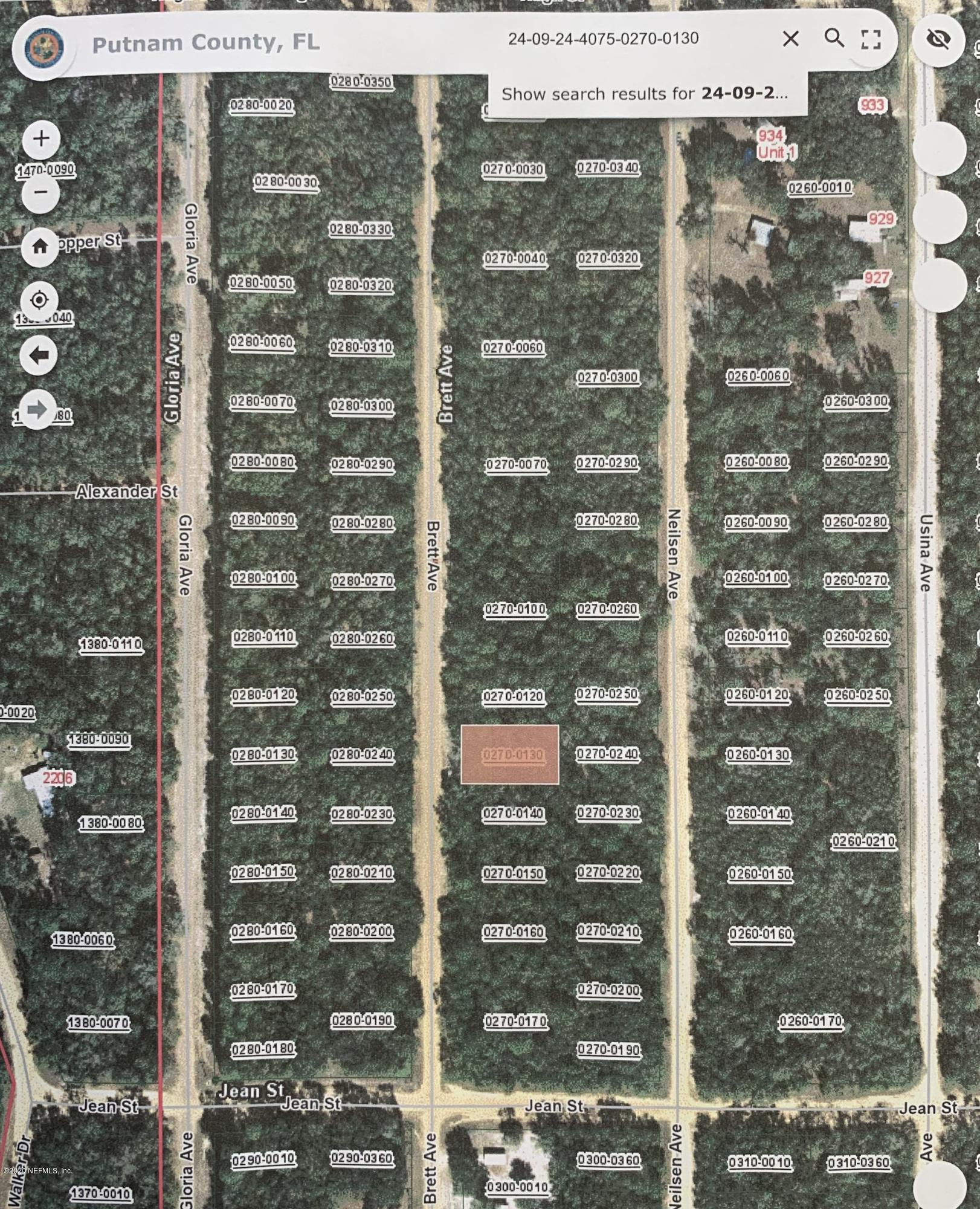 00 BRETT, INTERLACHEN, FLORIDA 32148, ,Vacant land,For sale,BRETT,1058307