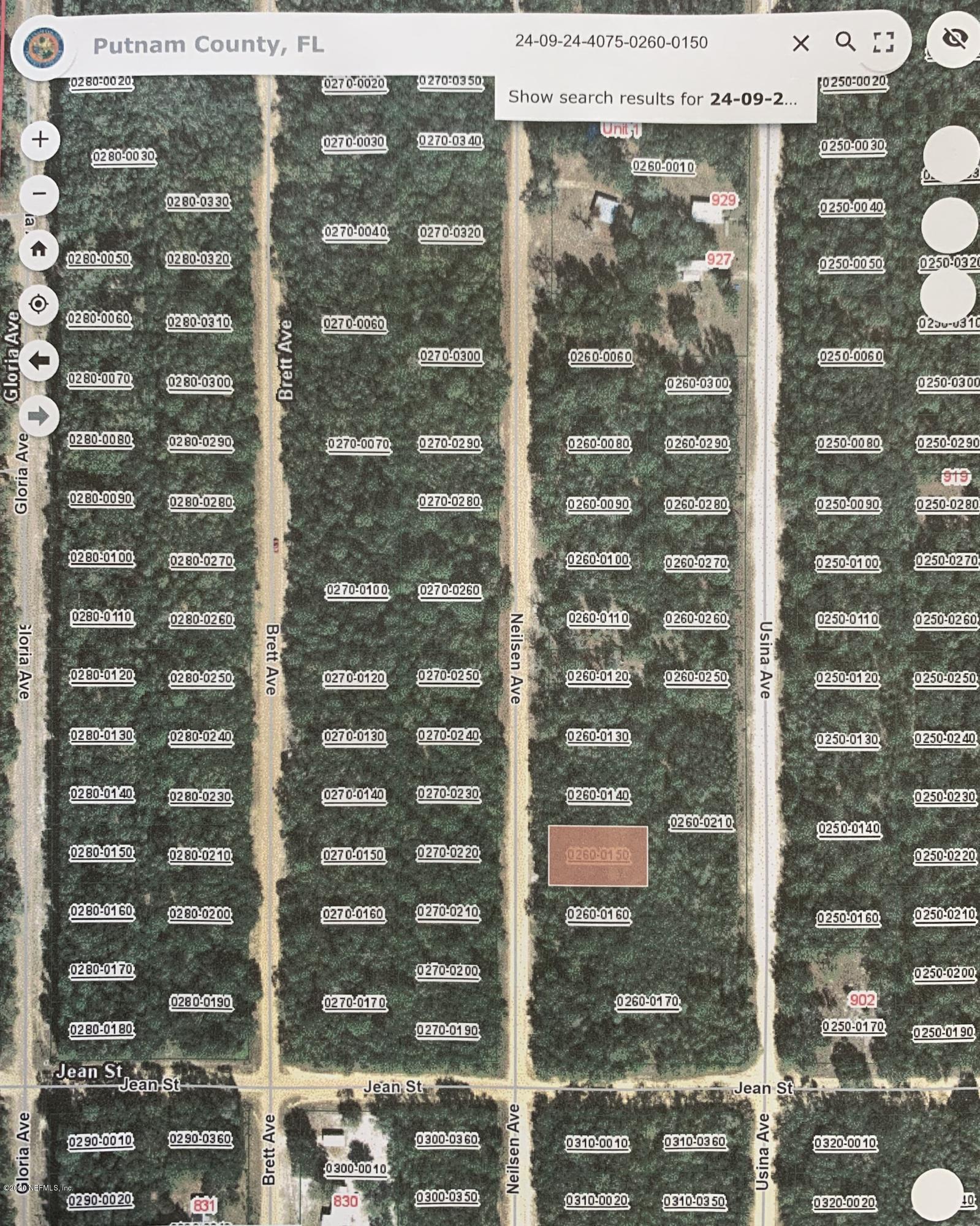000 NEILSEN, INTERLACHEN, FLORIDA 32148, ,Vacant land,For sale,NEILSEN,1058308