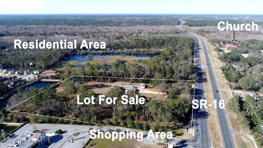 1065 STATE ROAD 16, ST AUGUSTINE, FLORIDA 32084, ,Commercial,For sale,STATE ROAD 16,1025376