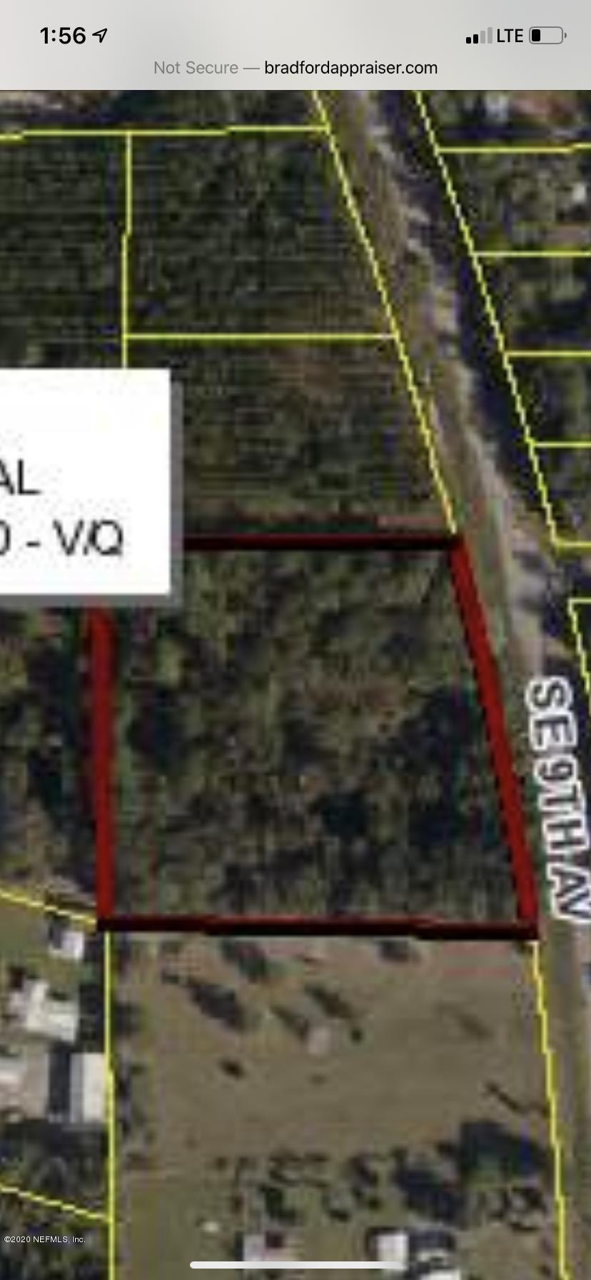 00 9TH, STARKE, FLORIDA 32091, ,Vacant land,For sale,9TH,1059823