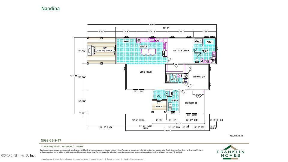 608 MINNESOTA, SATSUMA, FLORIDA 32189, 3 Bedrooms Bedrooms, ,2 BathroomsBathrooms,Residential,For sale,MINNESOTA,1059709