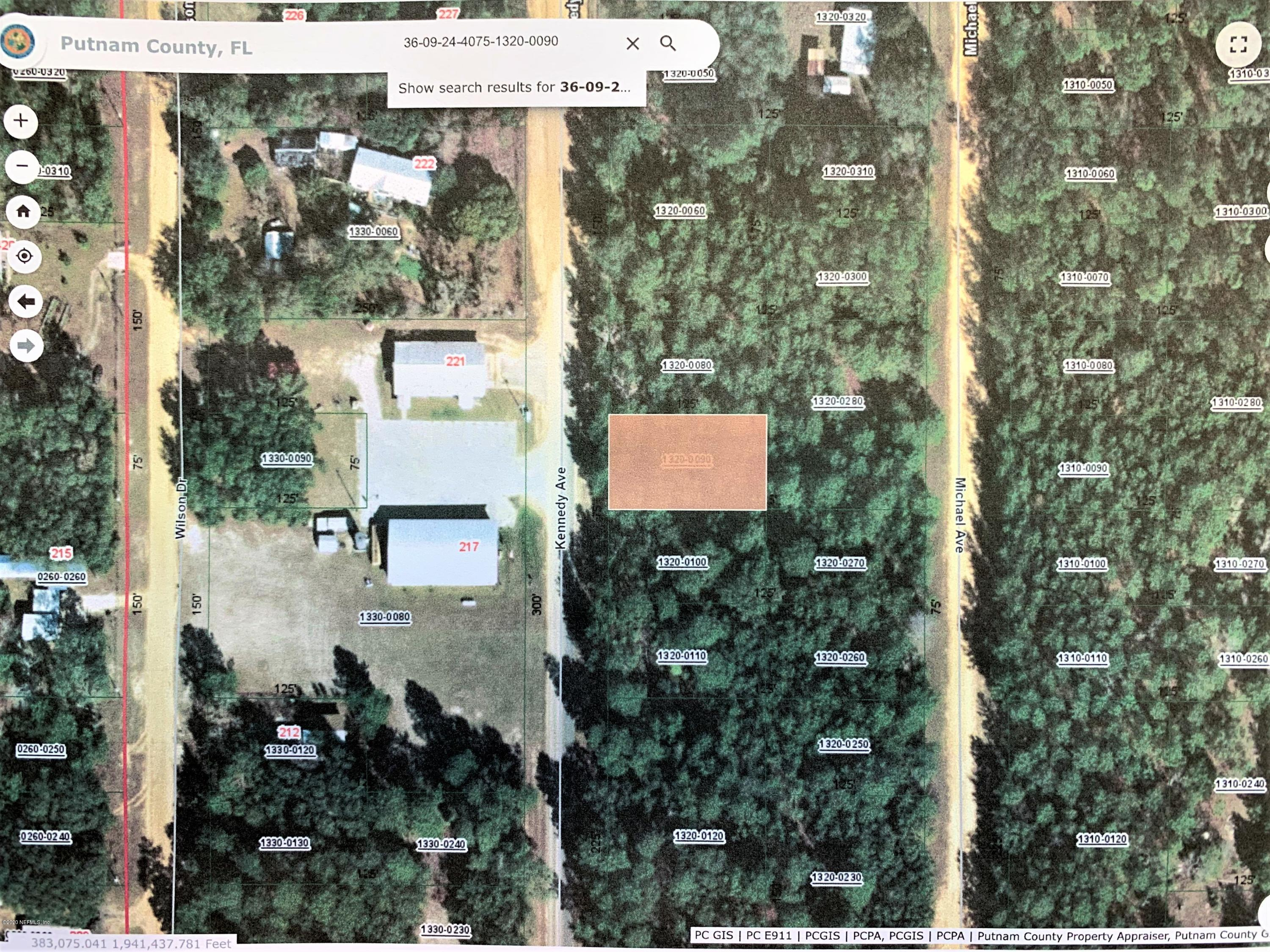 00 KENNEDY, INTERLACHEN, FLORIDA 32148, ,Vacant land,For sale,KENNEDY,1061157