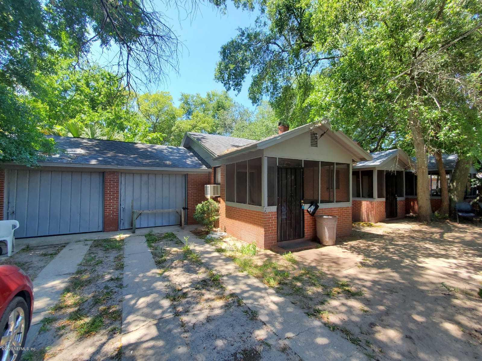 3926 PERRY, JACKSONVILLE, FLORIDA 32206, 2 Bedrooms Bedrooms, ,2 BathroomsBathrooms,Investment / MultiFamily,For sale,PERRY,1061279