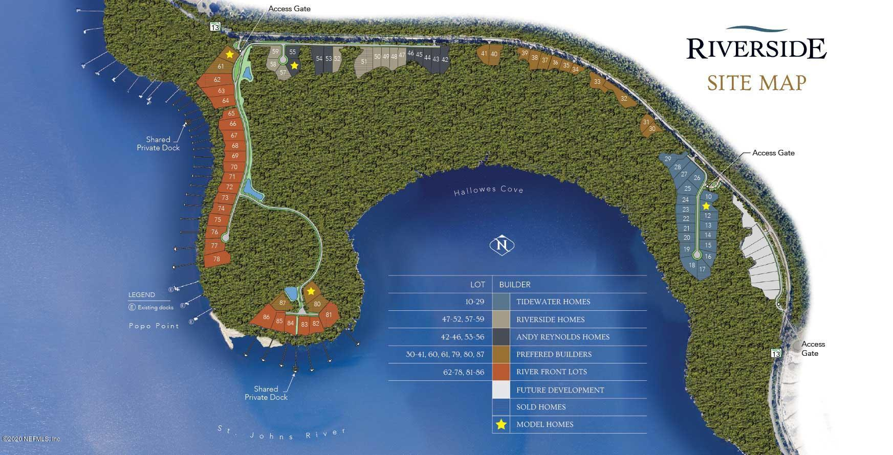 356 HALLOWES, ST JOHNS, FLORIDA 32259, ,Vacant land,For sale,HALLOWES,905706
