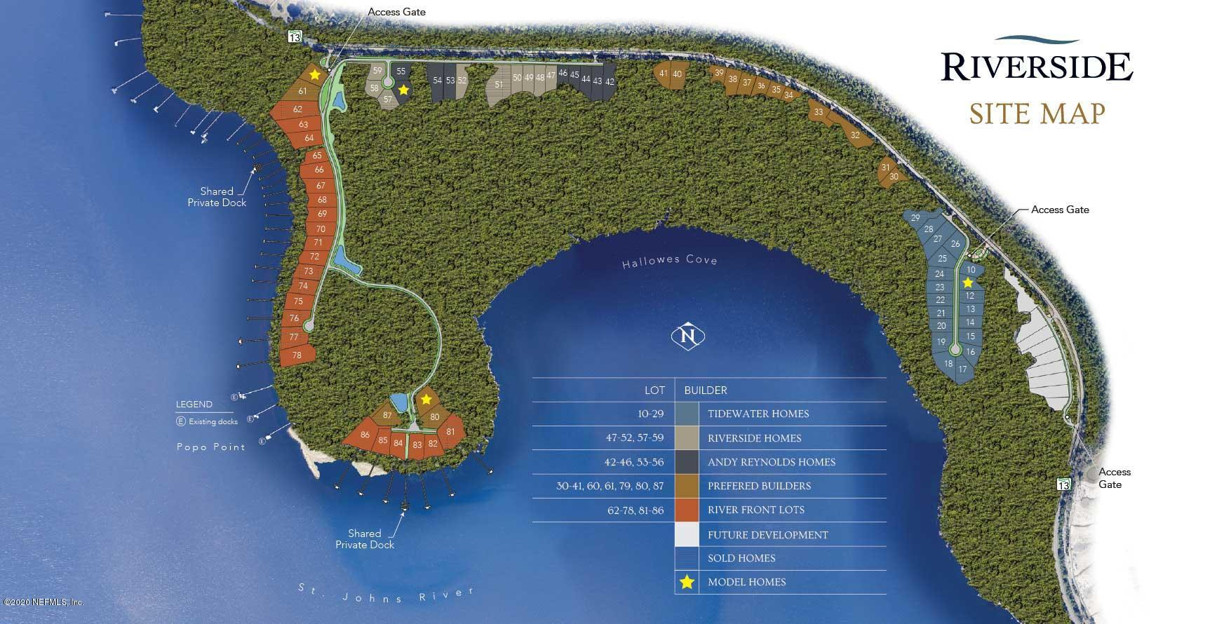 330 HALLOWES, ST JOHNS, FLORIDA 32259, ,Vacant land,For sale,HALLOWES,905520