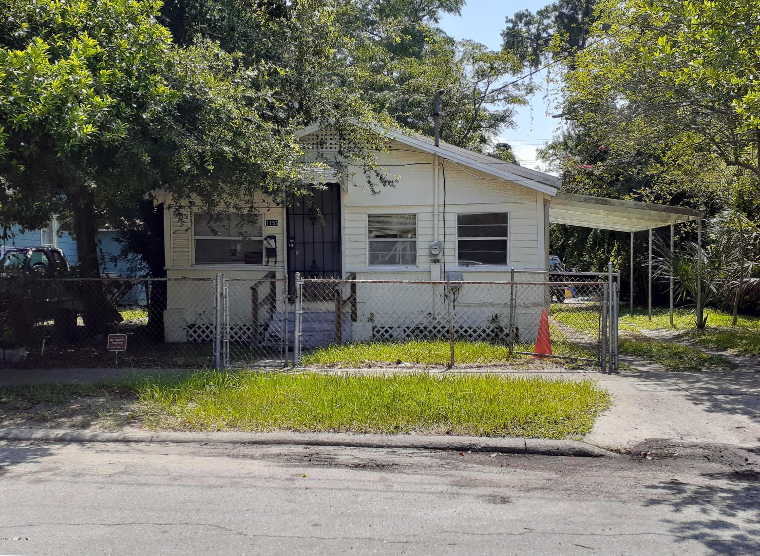 1153 HARRISON, JACKSONVILLE, FLORIDA 32206, 2 Bedrooms Bedrooms, ,1 BathroomBathrooms,Investment / MultiFamily,For sale,HARRISON,1062702