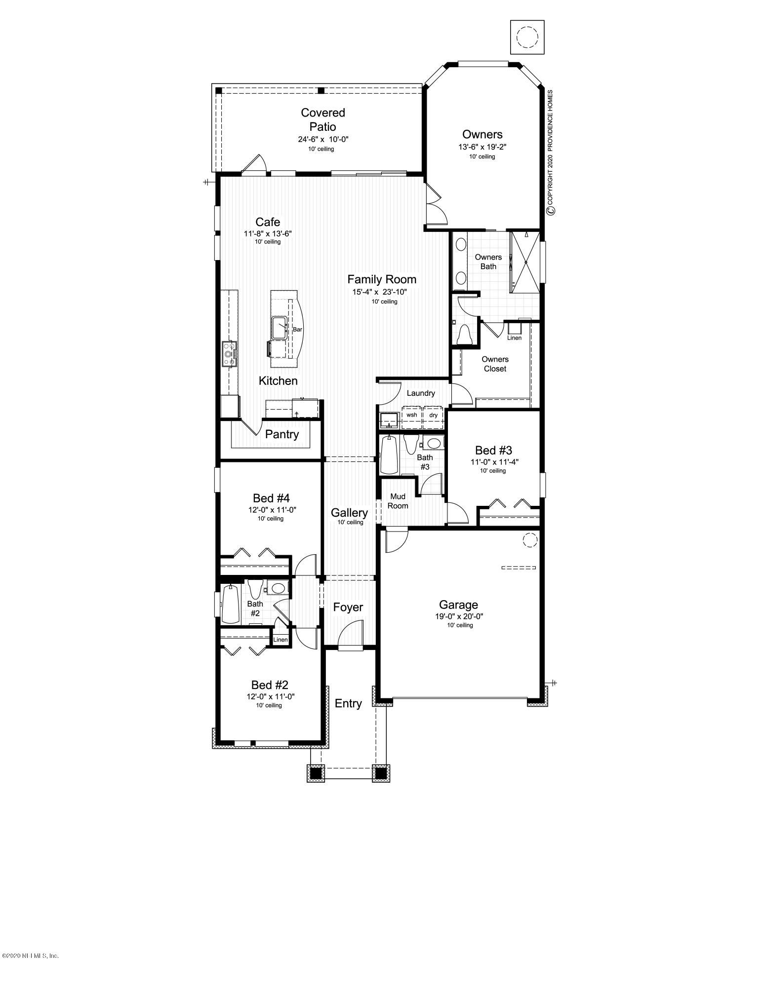 9869 INVENTION, JACKSONVILLE, FLORIDA 32256, 4 Bedrooms Bedrooms, ,3 BathroomsBathrooms,Residential,For sale,INVENTION,1052381