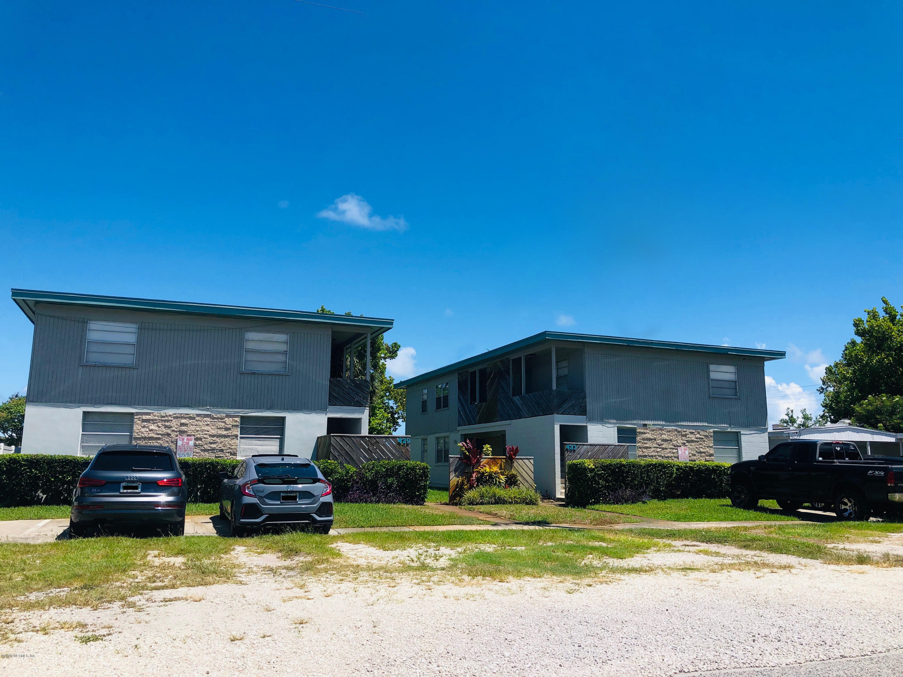 423 & 429 9TH, JACKSONVILLE BEACH, FLORIDA 32250, 16 Bedrooms Bedrooms, ,8 BathroomsBathrooms,Investment / MultiFamily,For sale,9TH,1064119