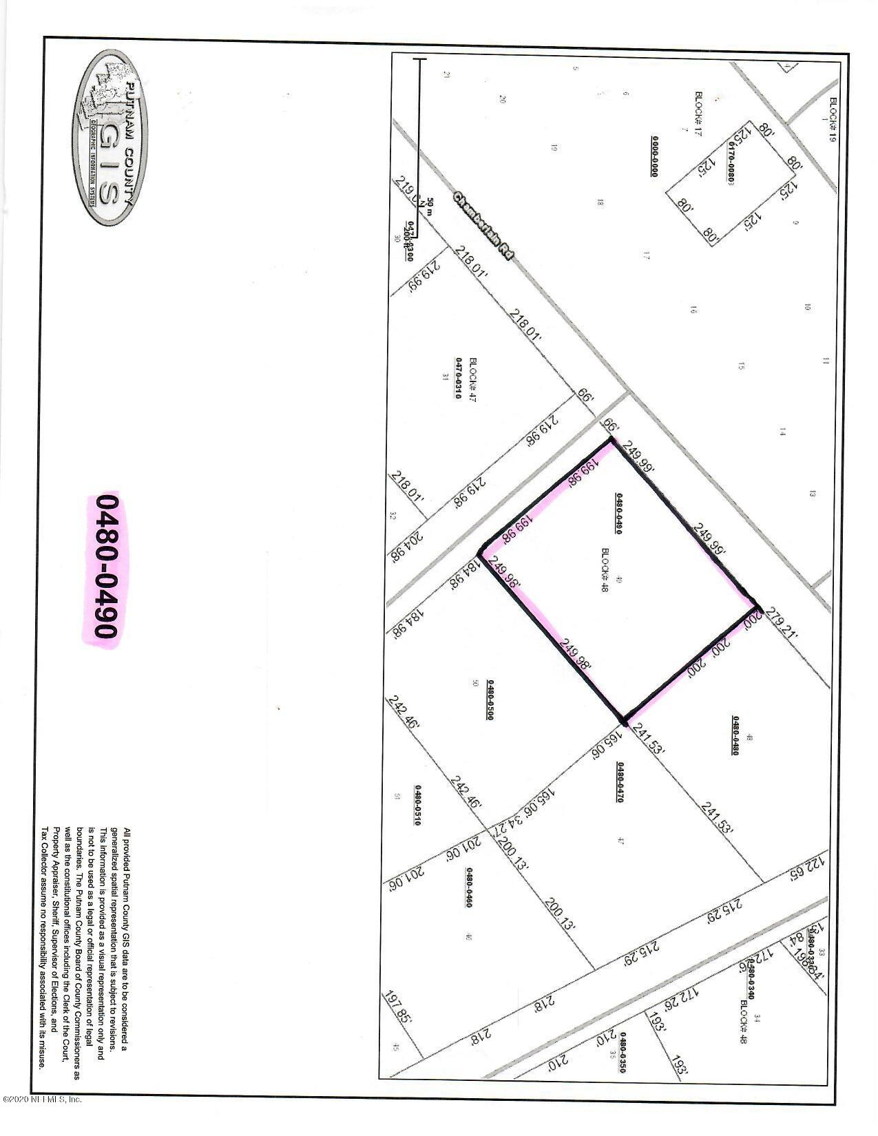 0 4TH, SATSUMA, FLORIDA 32189, ,Vacant land,For sale,4TH,1007984