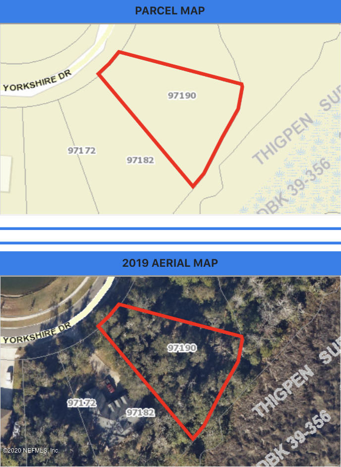 97190 YORKSHIRE, YULEE, FLORIDA 32097, ,Vacant land,For sale,YORKSHIRE,1064312