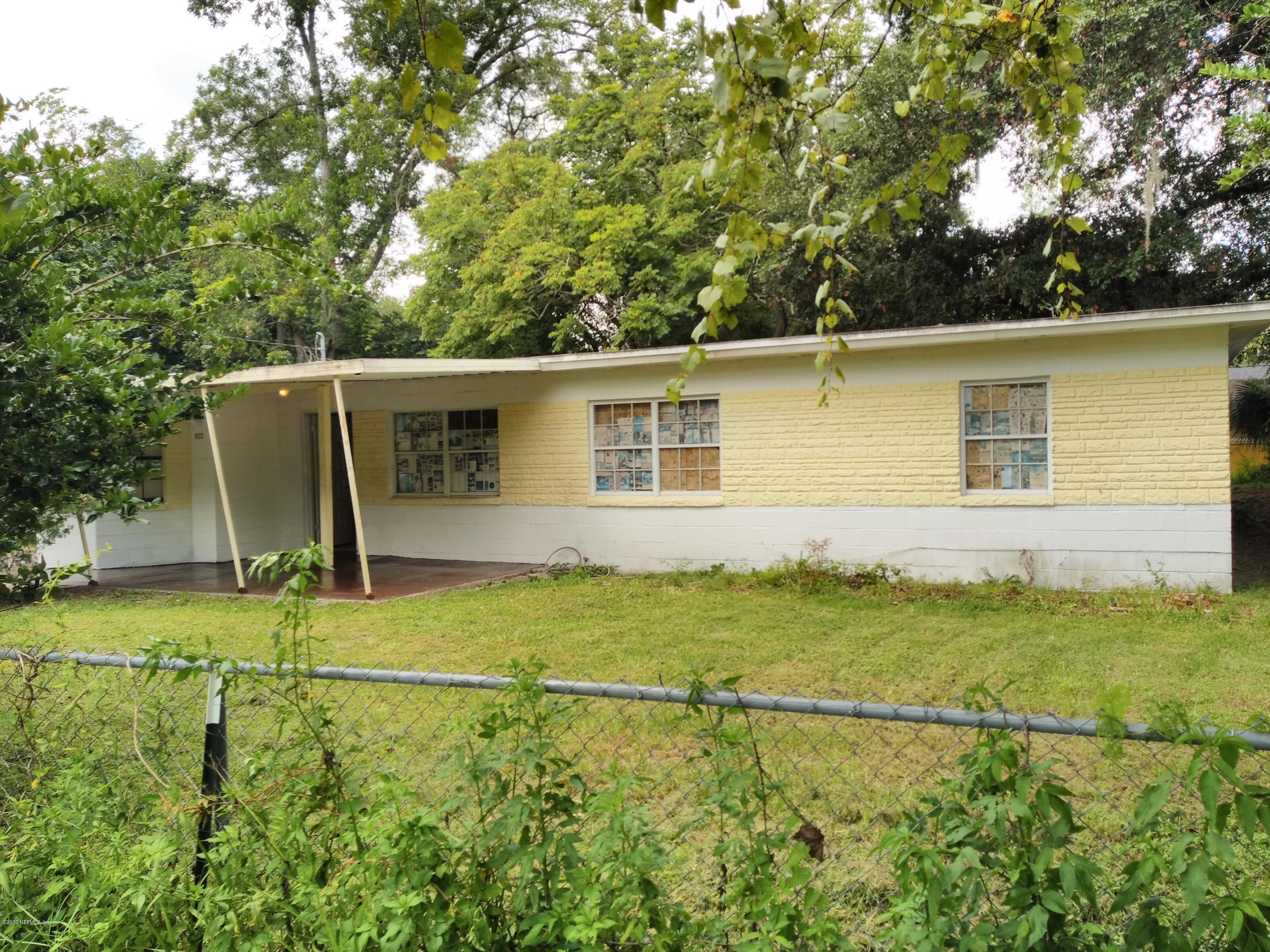 9172 11TH, JACKSONVILLE, FLORIDA 32208, 3 Bedrooms Bedrooms, ,1 BathroomBathrooms,Residential,For sale,11TH,1040639