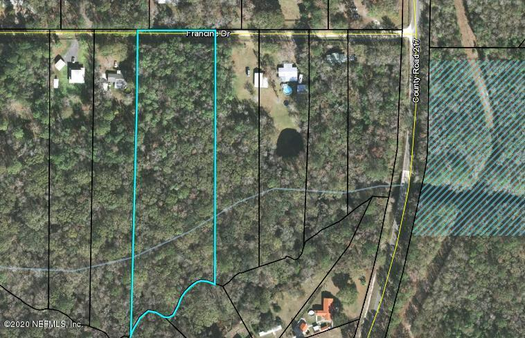 0 FRANCINE, JACKSONVILLE, FLORIDA 32234, ,Vacant land,For sale,FRANCINE,1066086